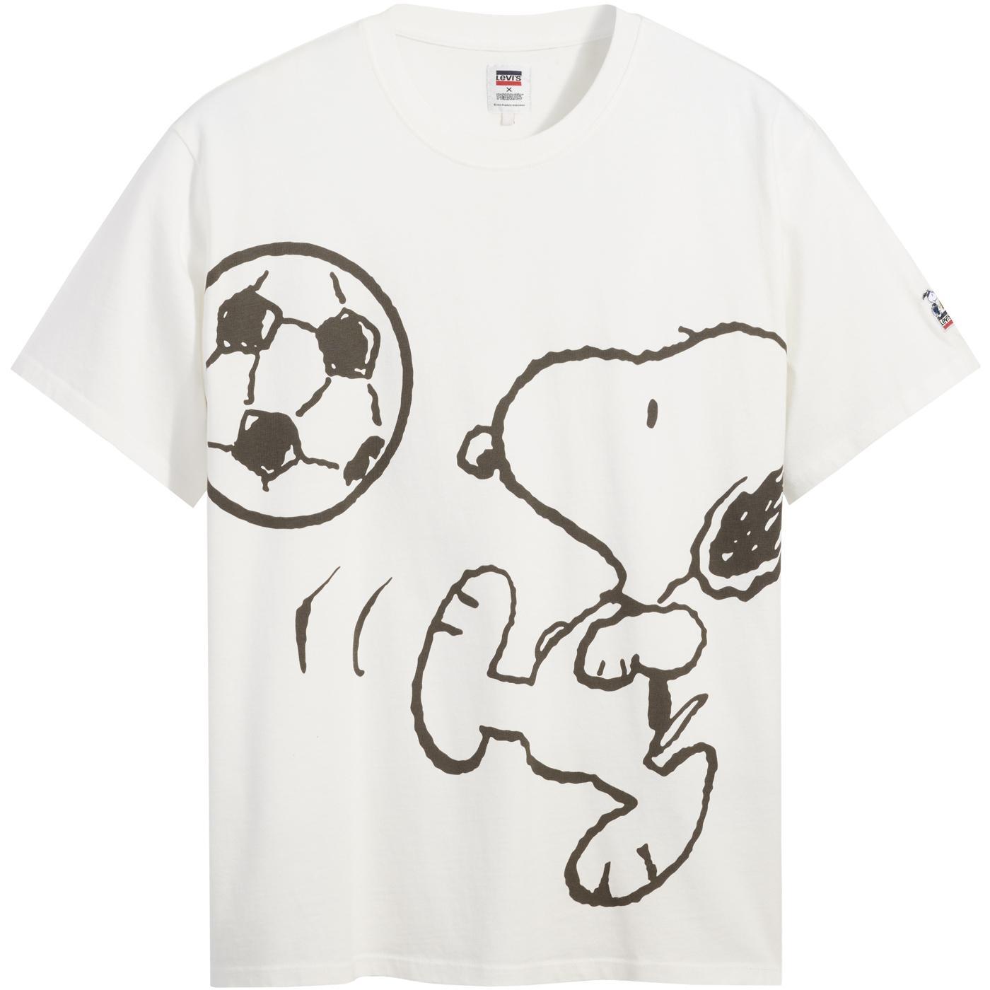 LEVI'S x PEANUTS Snoopy Football Retro Relaxed Tee