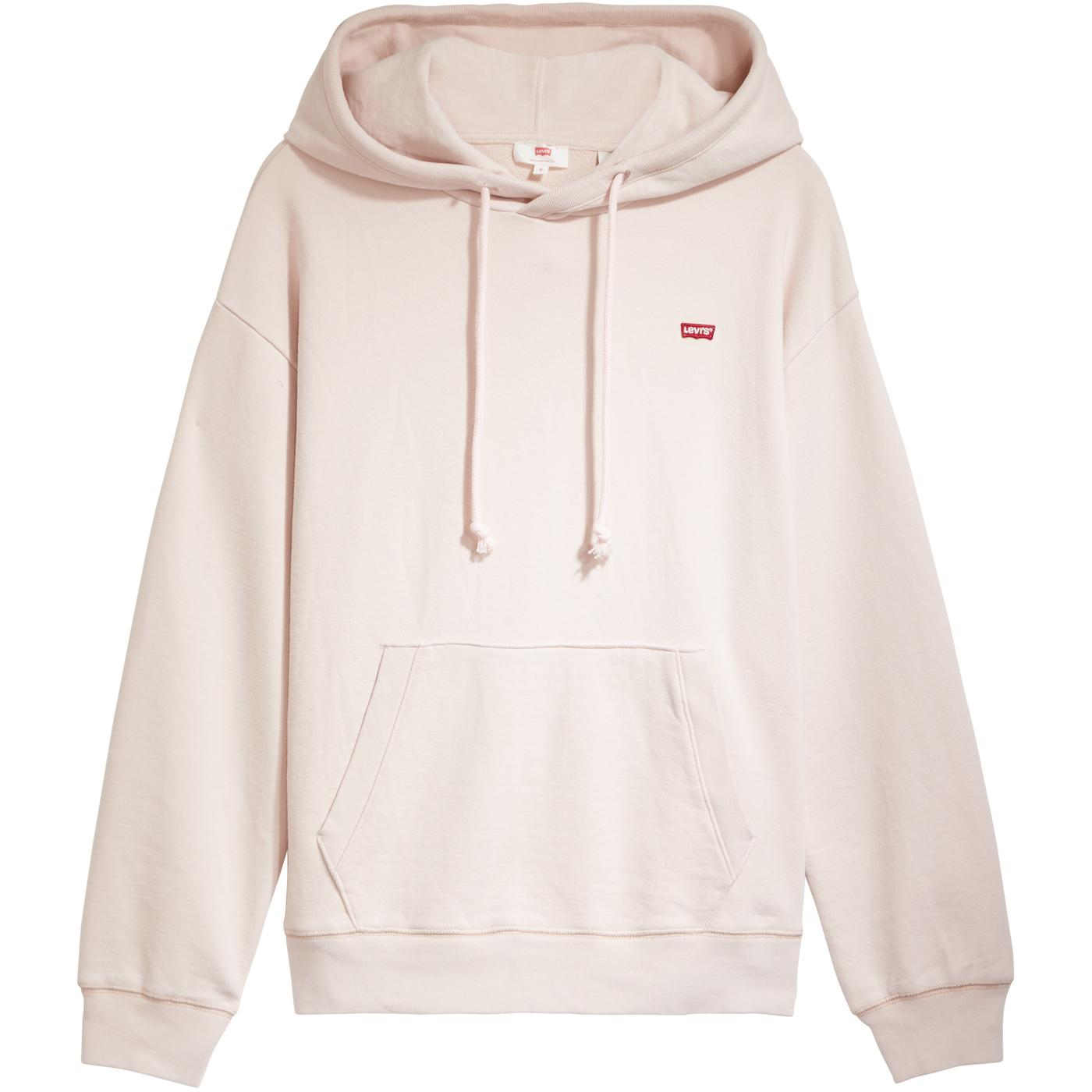 LEVI'S Standard Retro Jersey Hoodie (Sepia Rose)