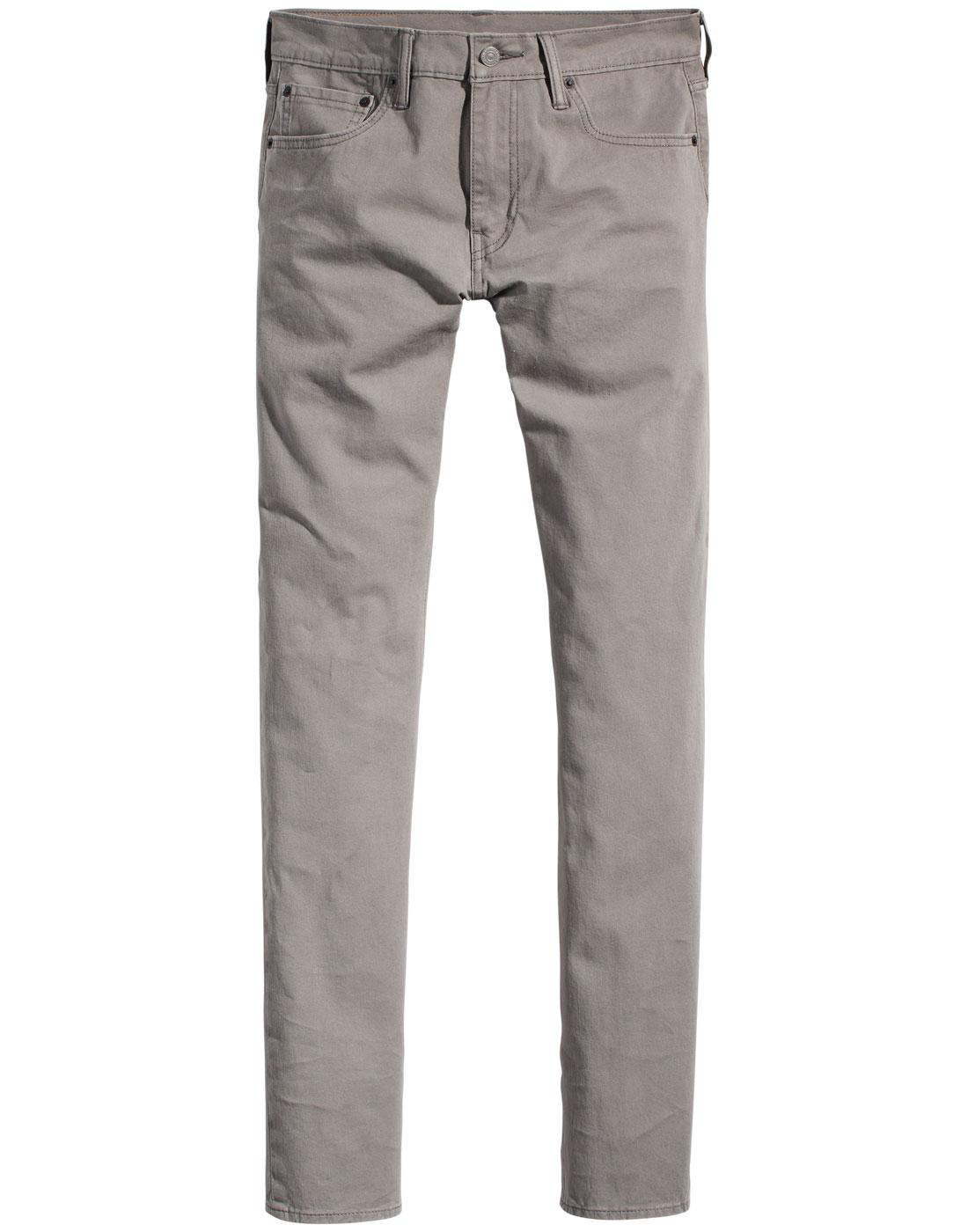 LEVI'S 511 Men's Retro Slim Fit Chinos STEEL GREY