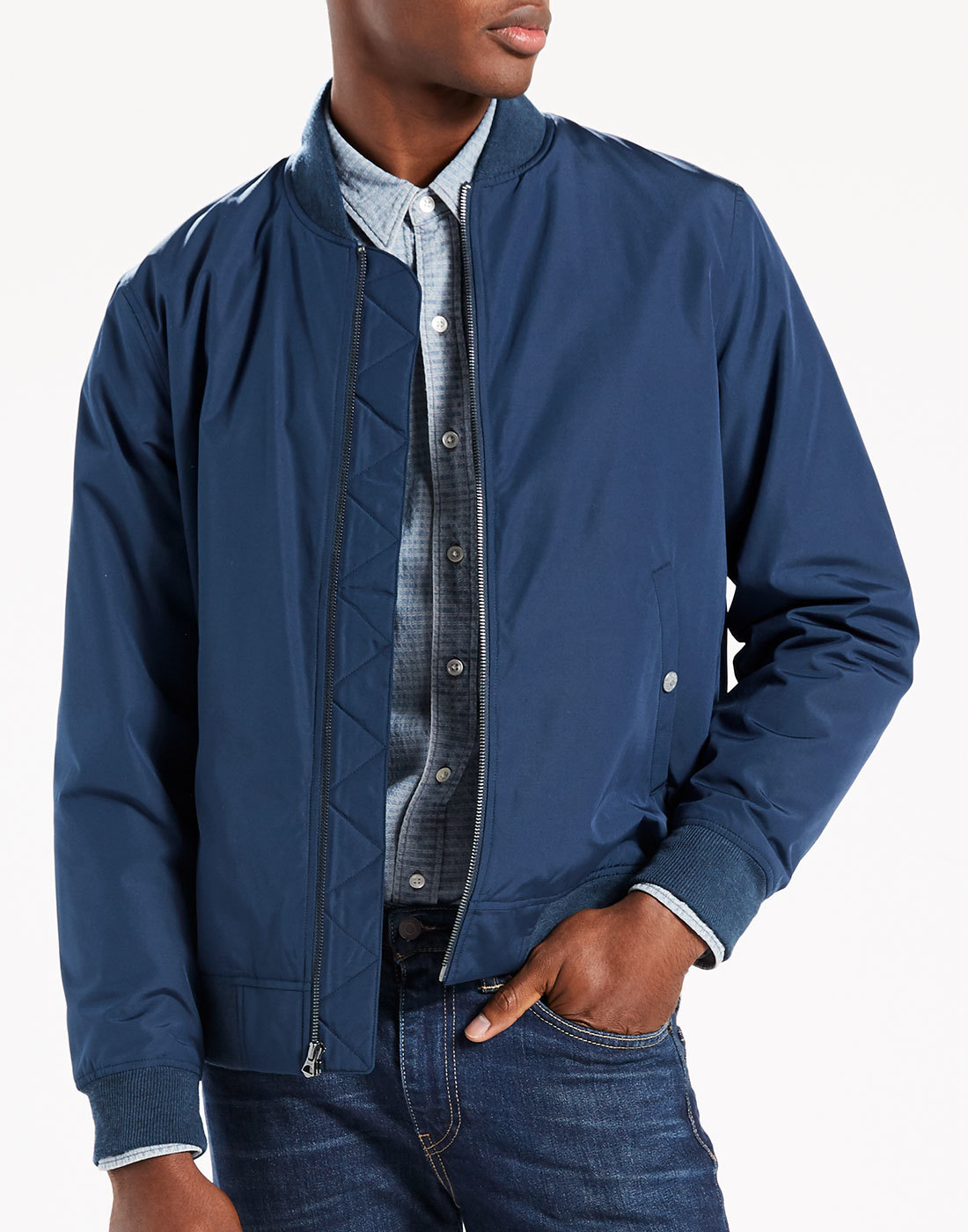 LEVI'S® Thermore Mod MA-1 Military Bomber Jacket
