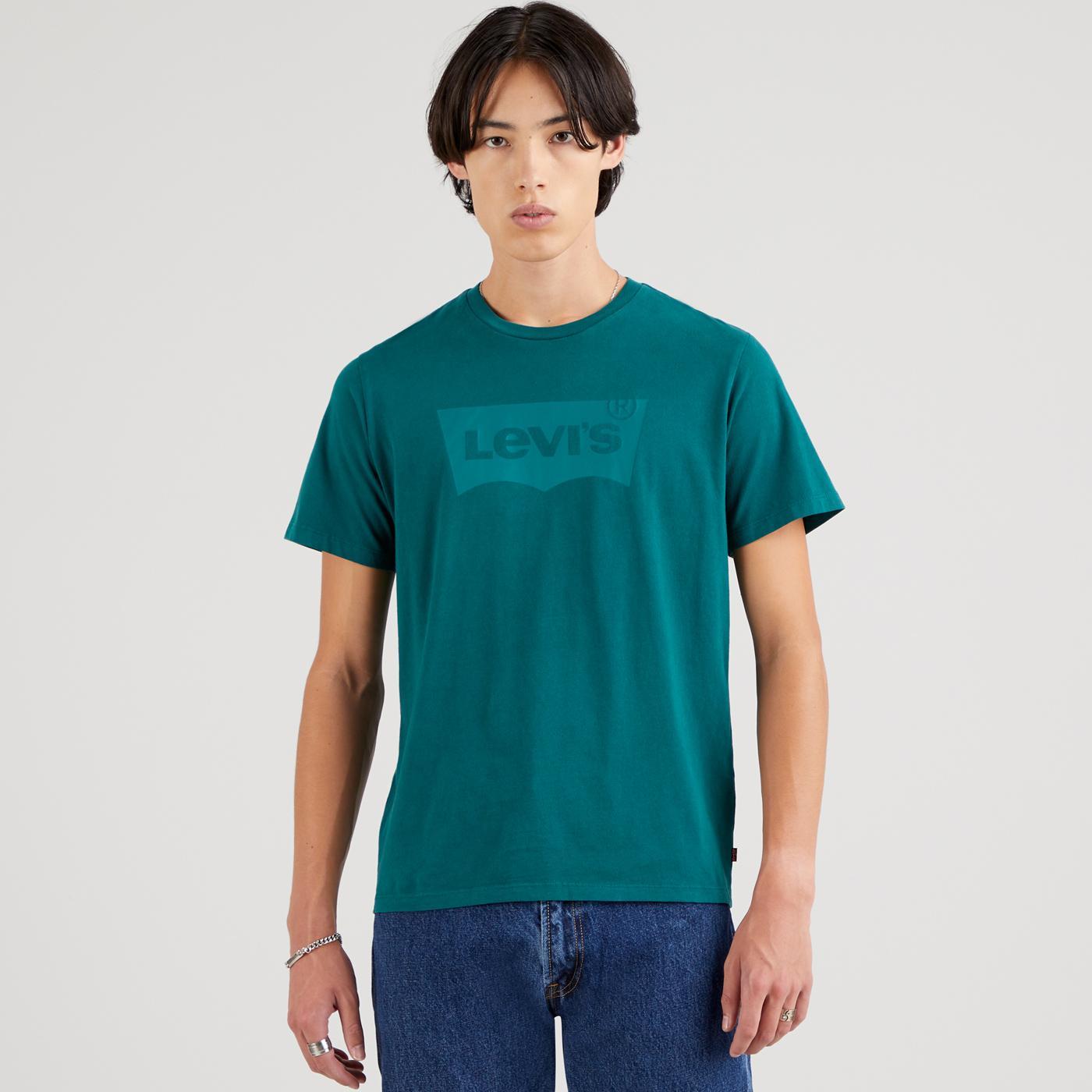LEVI'S Men's Retro Housemark Batwing T-shirt (FB)