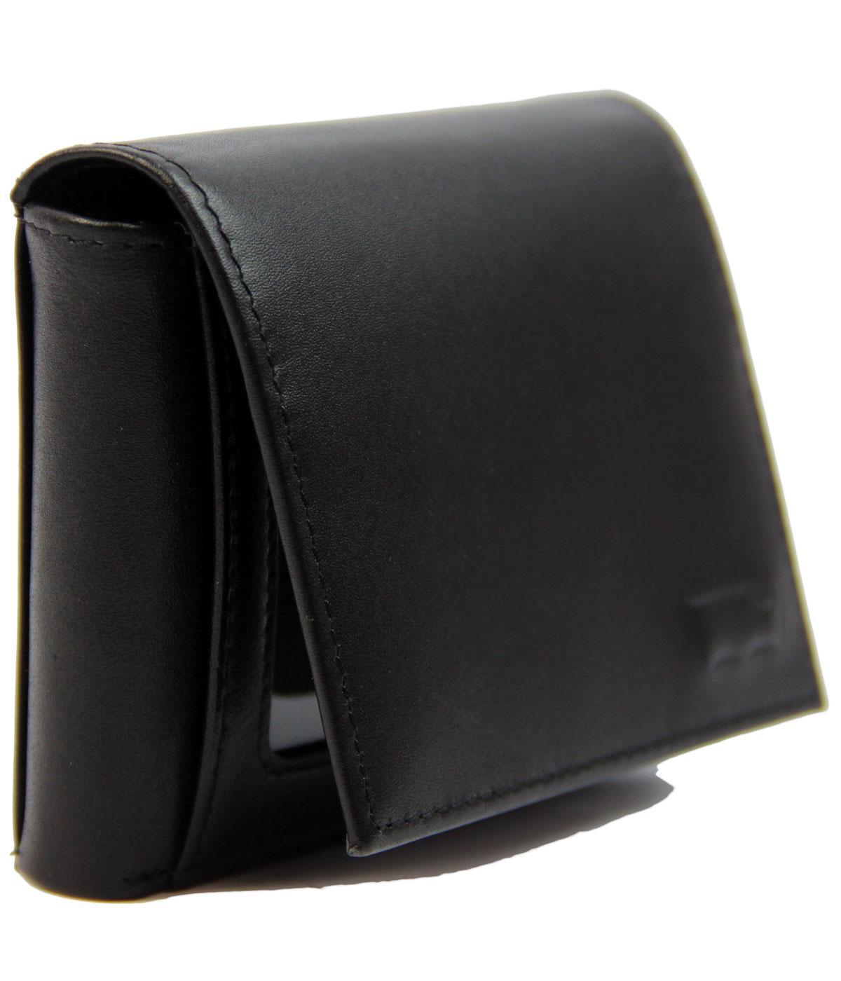 Levi's® Retro Leather Trifold Wallet w/Coin Pocket