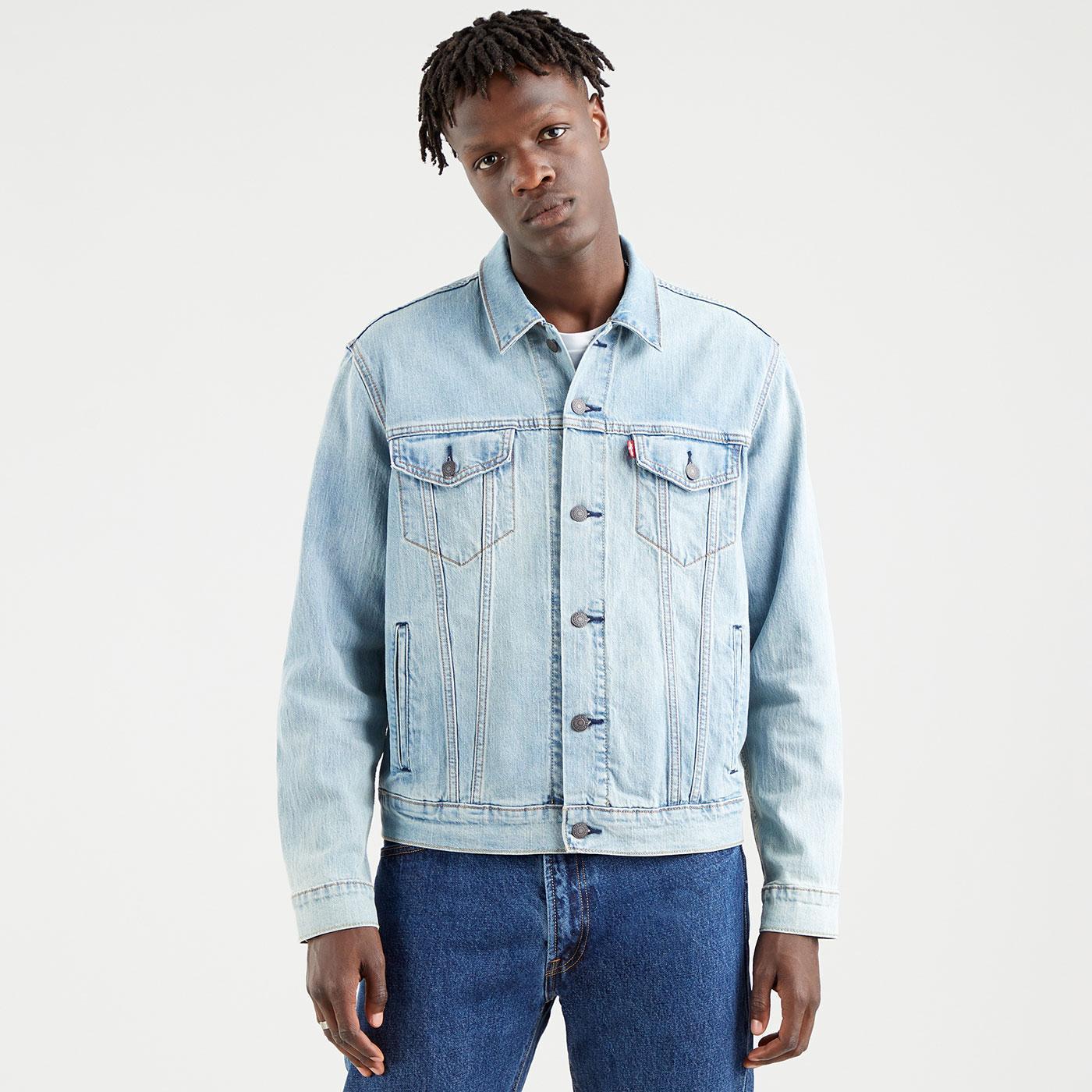 LEVI'S Mod Denim Trucker Jacket (Colder Than Ice)