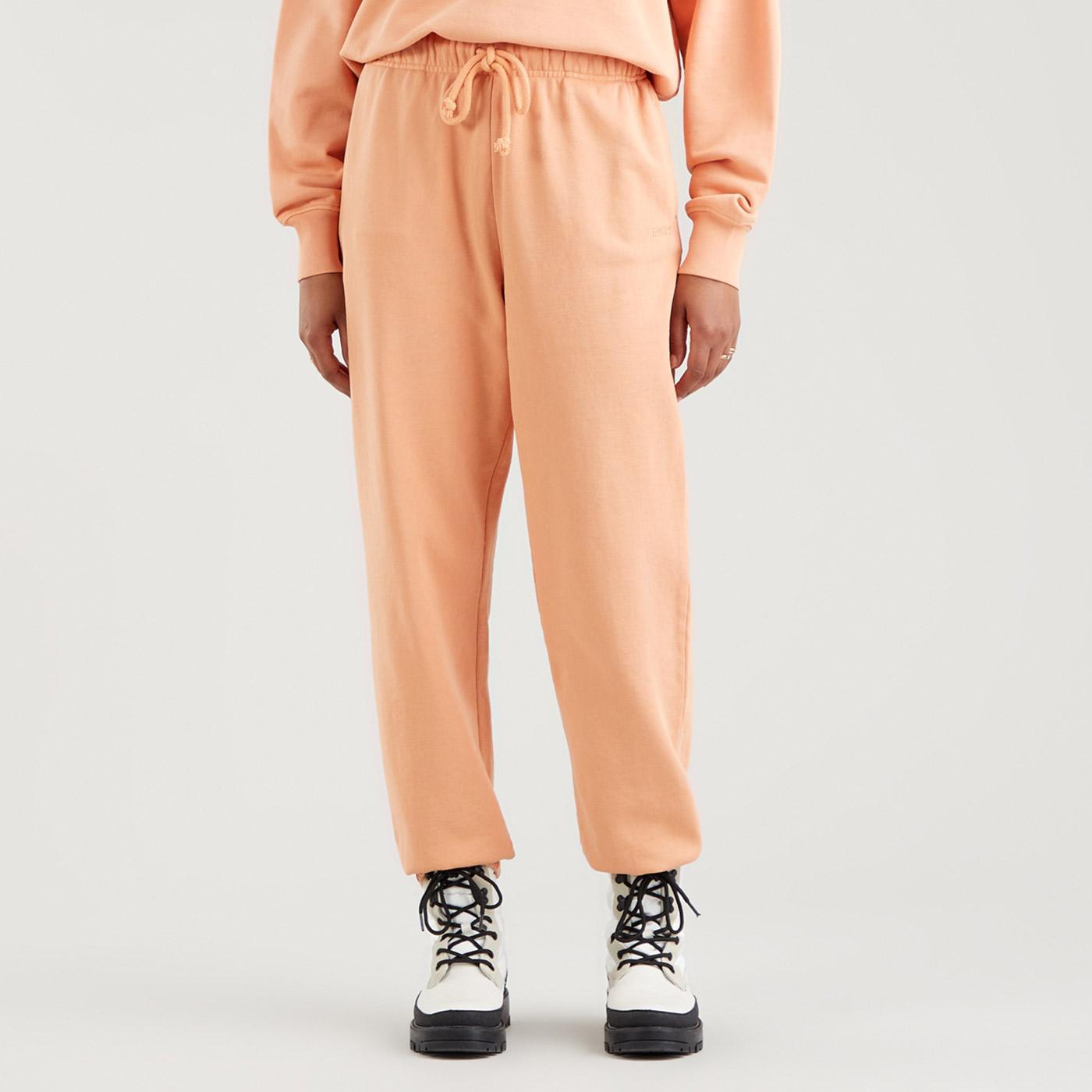 LEVI'S WFH Garment Dye Sweatpants (Peach Bloom)