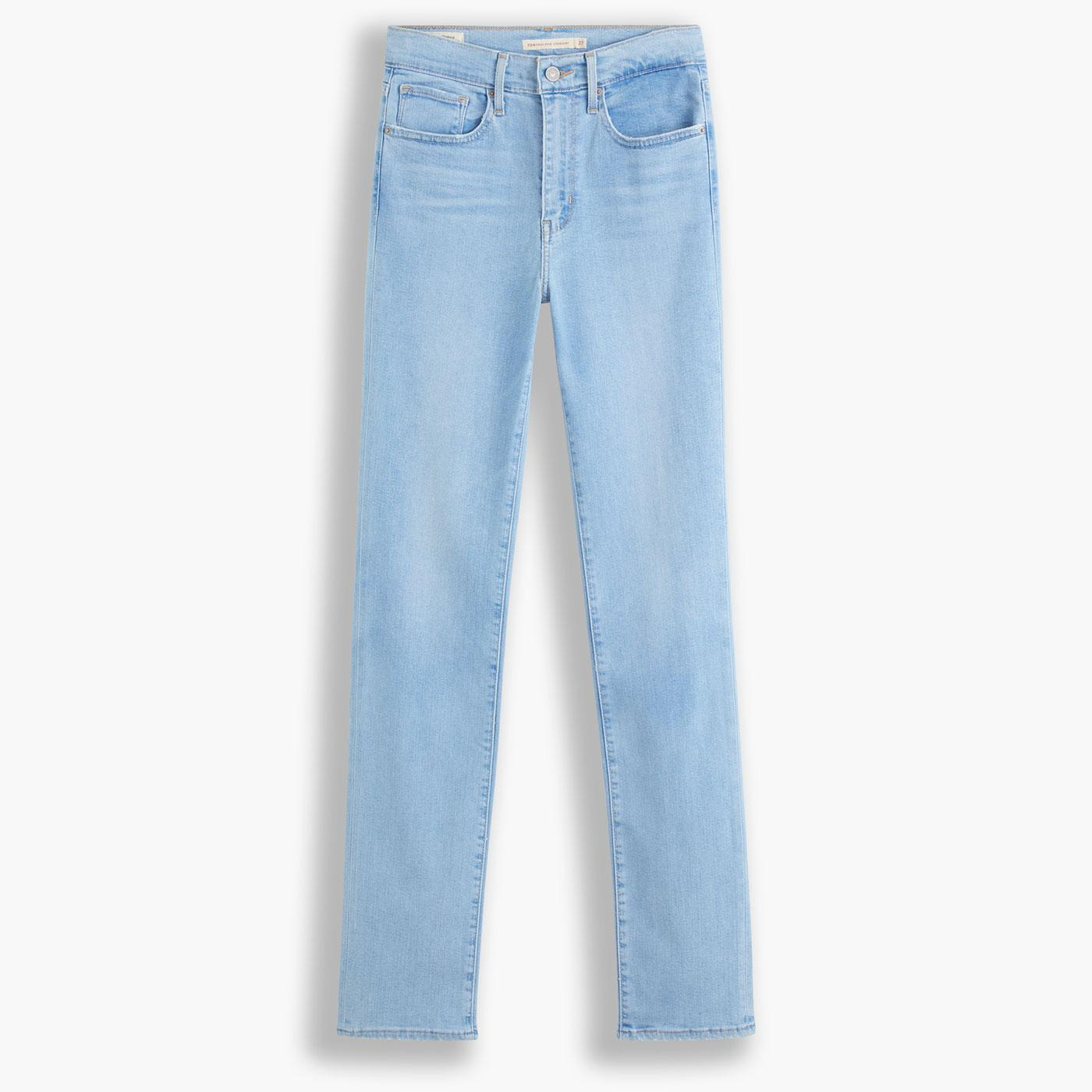 LEVI'S 724 High Rise Straight Jeans in Rio Aura