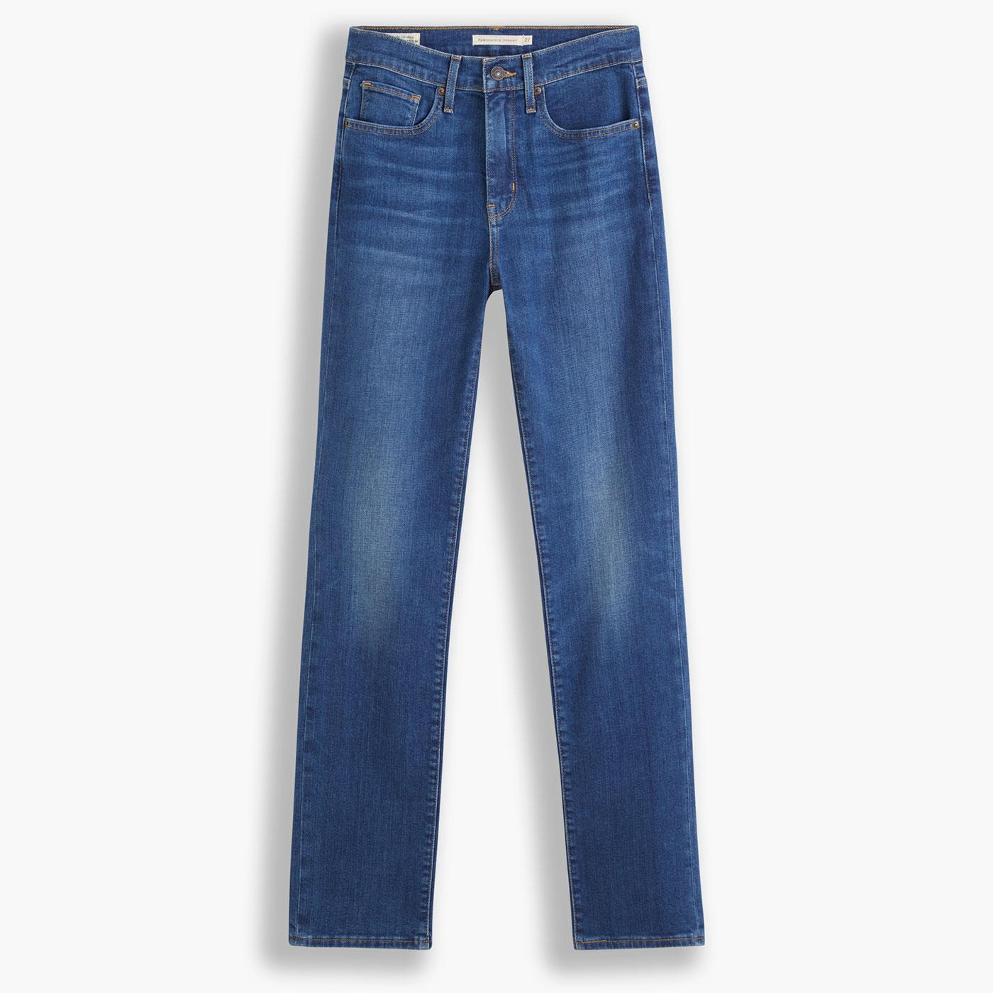 LEVI'S 724 High Rise Straight Jeans in Nonstop