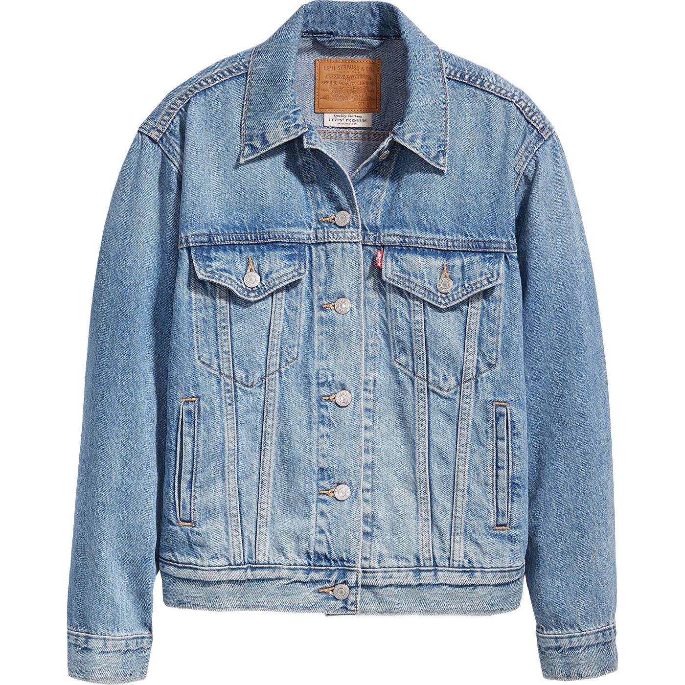 LEVI'S Ex-Boyfriend Trucker Jacket SOFT AS BUTTER