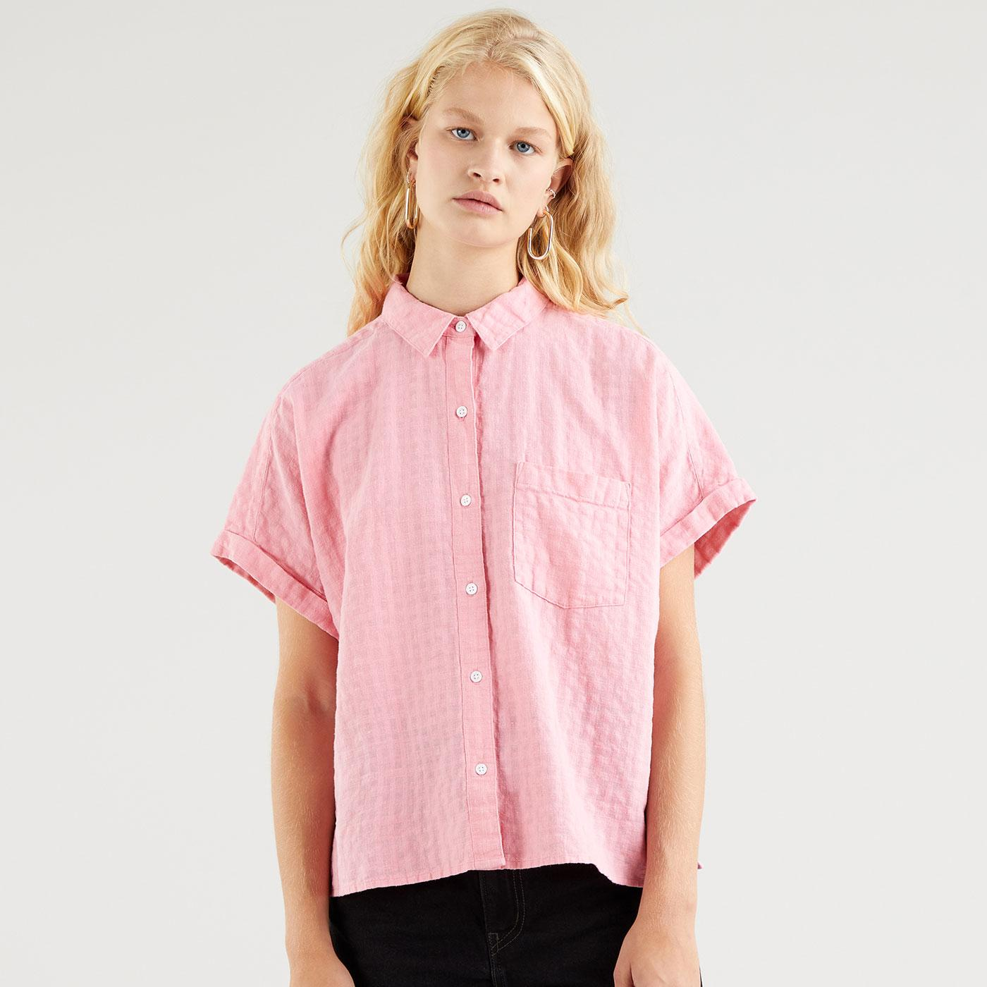 Laney LEVI'S WOMENS Retro Oversized Linen Shirt