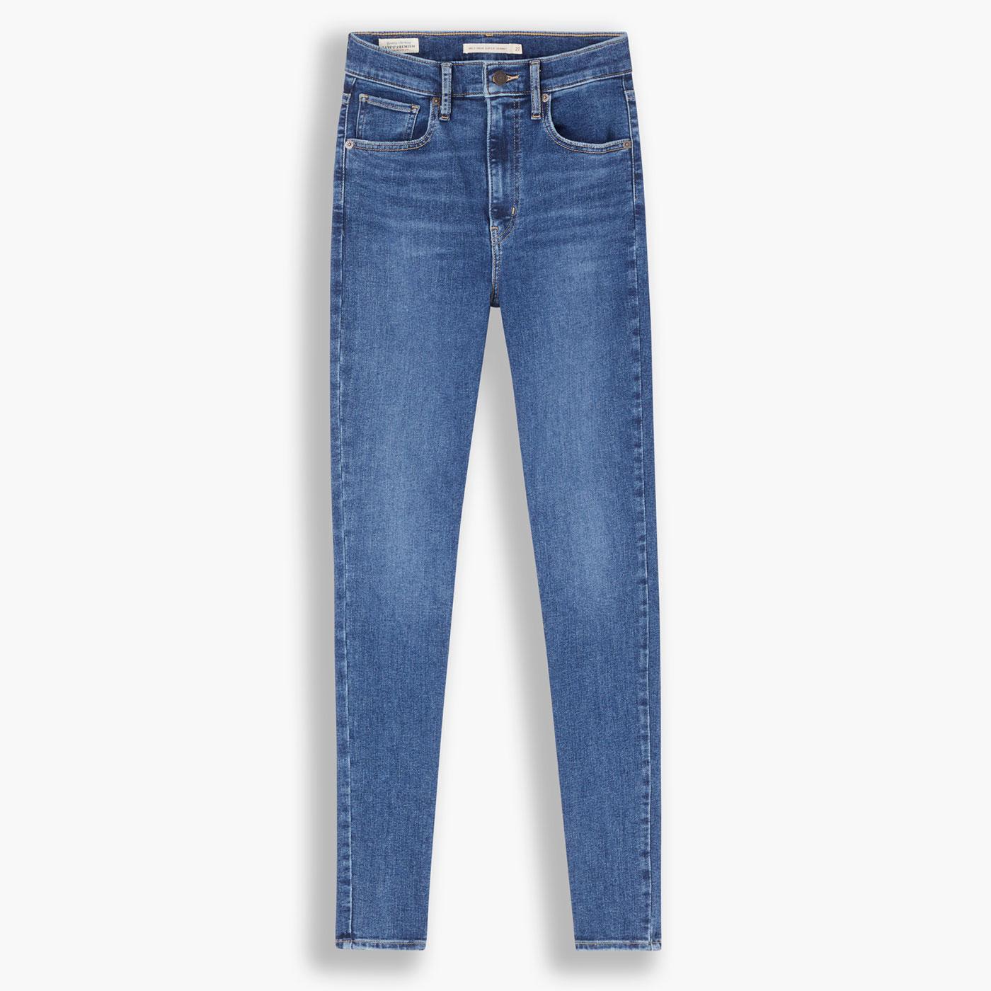 LEVI'S Mile High Women's Super Skinny Jeans (VFR)