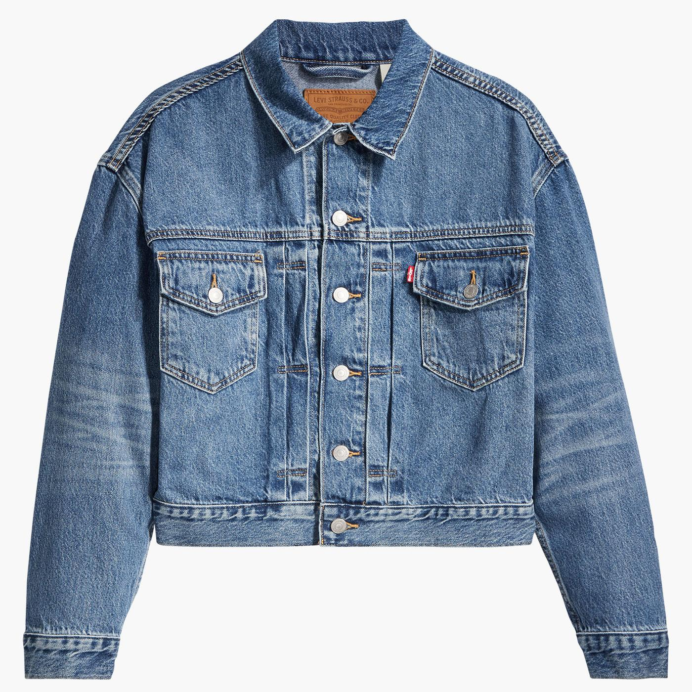 LEVI'S Women's New Heritage Trucker Denim Jacket