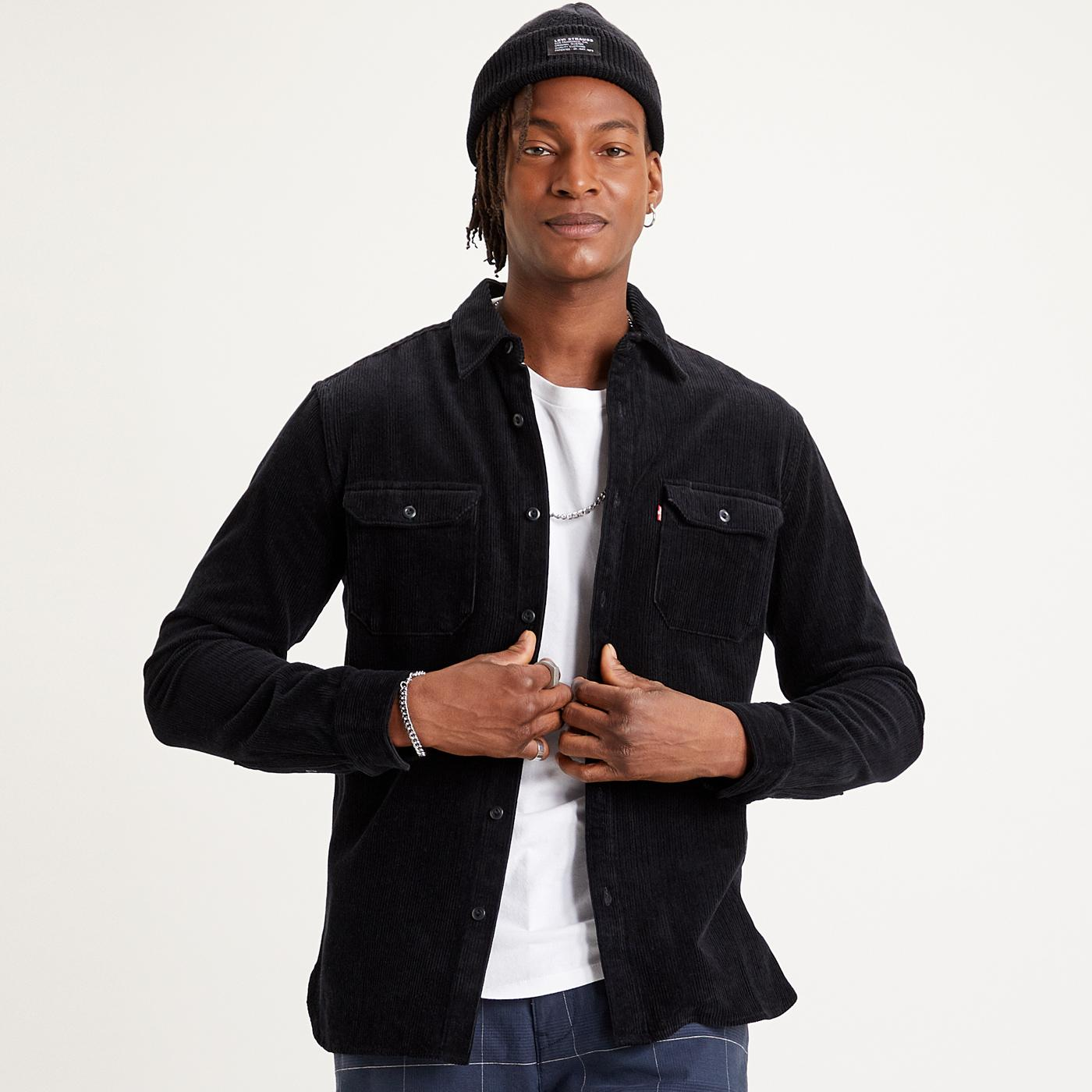 Jackson LEVI'S Retro Cord Worker Over Shirt (JB)