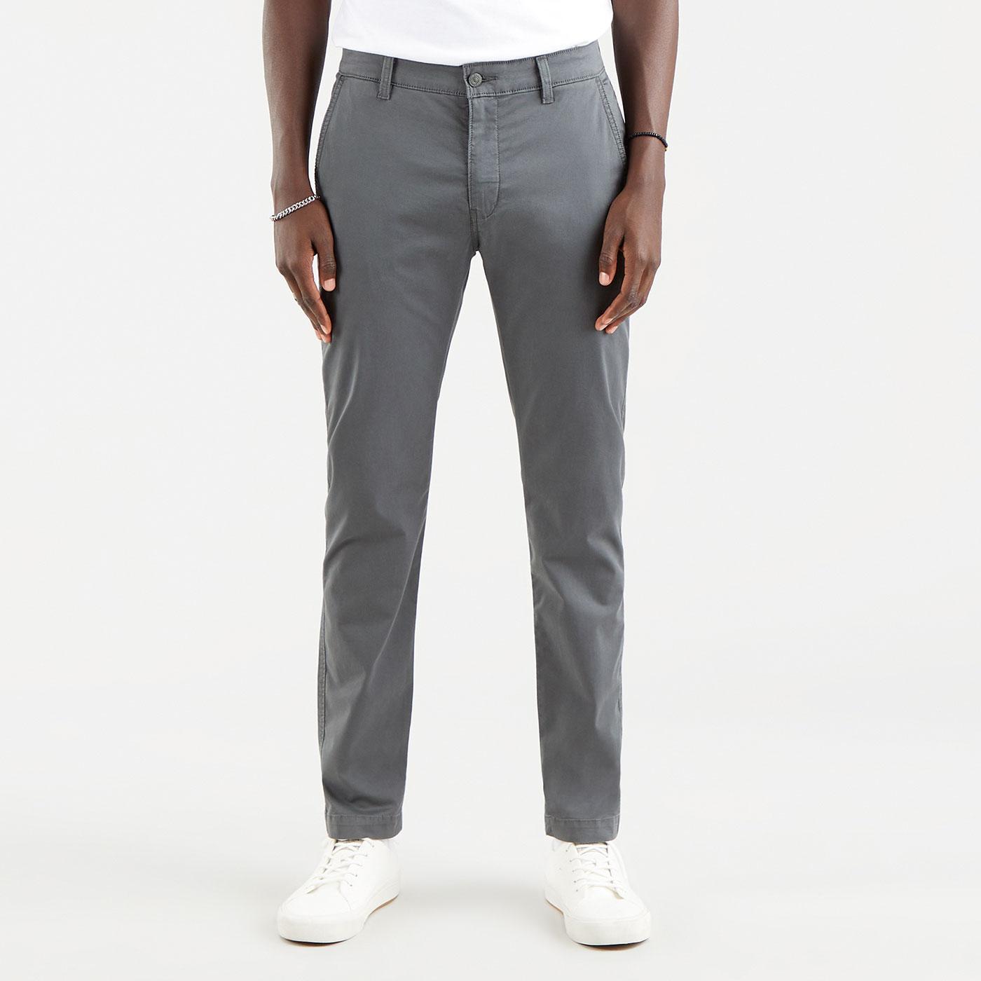 LEVI'S XX Chino Slim Taper Twill Trousers (Grey)