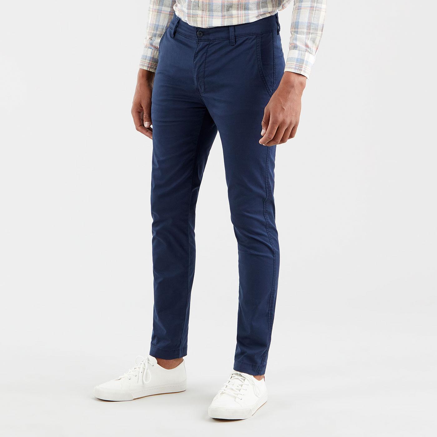 LEVI'S XX Chino Slim Taper Twill Trousers (Navy)