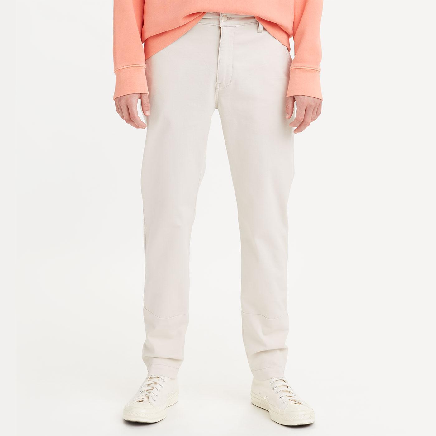 LEVI'S XX Chino Slim Taper Twill Trousers (Pumice)
