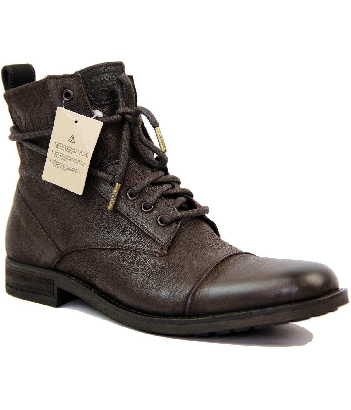 levi s 174 maine retro mod leather boots