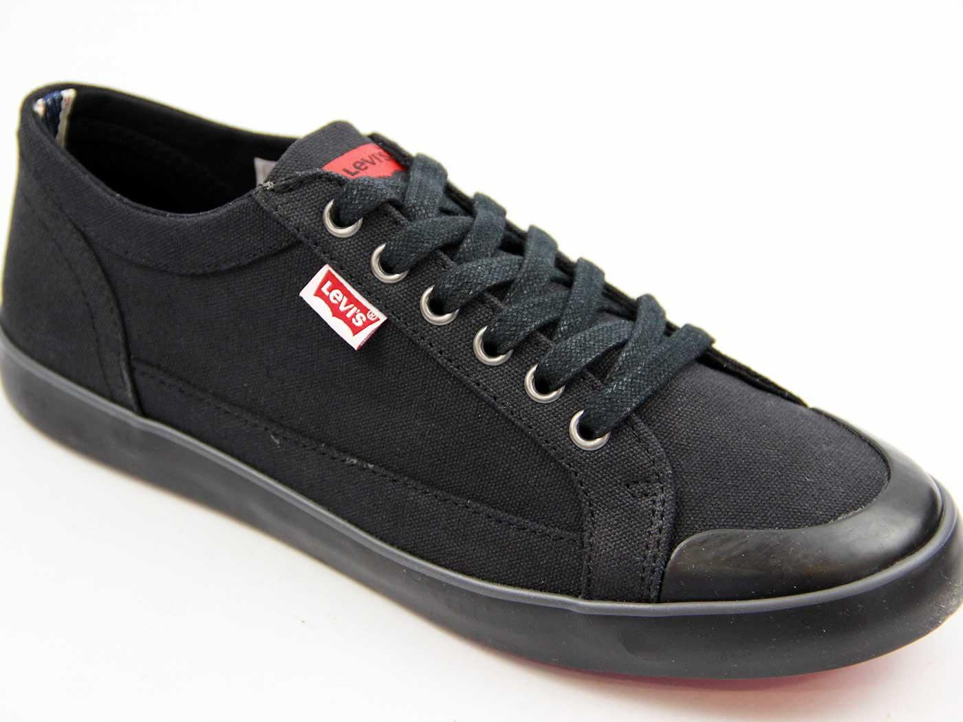 Canvas Sneakers LEVI'S® Retro Lace Up Trainers (B)