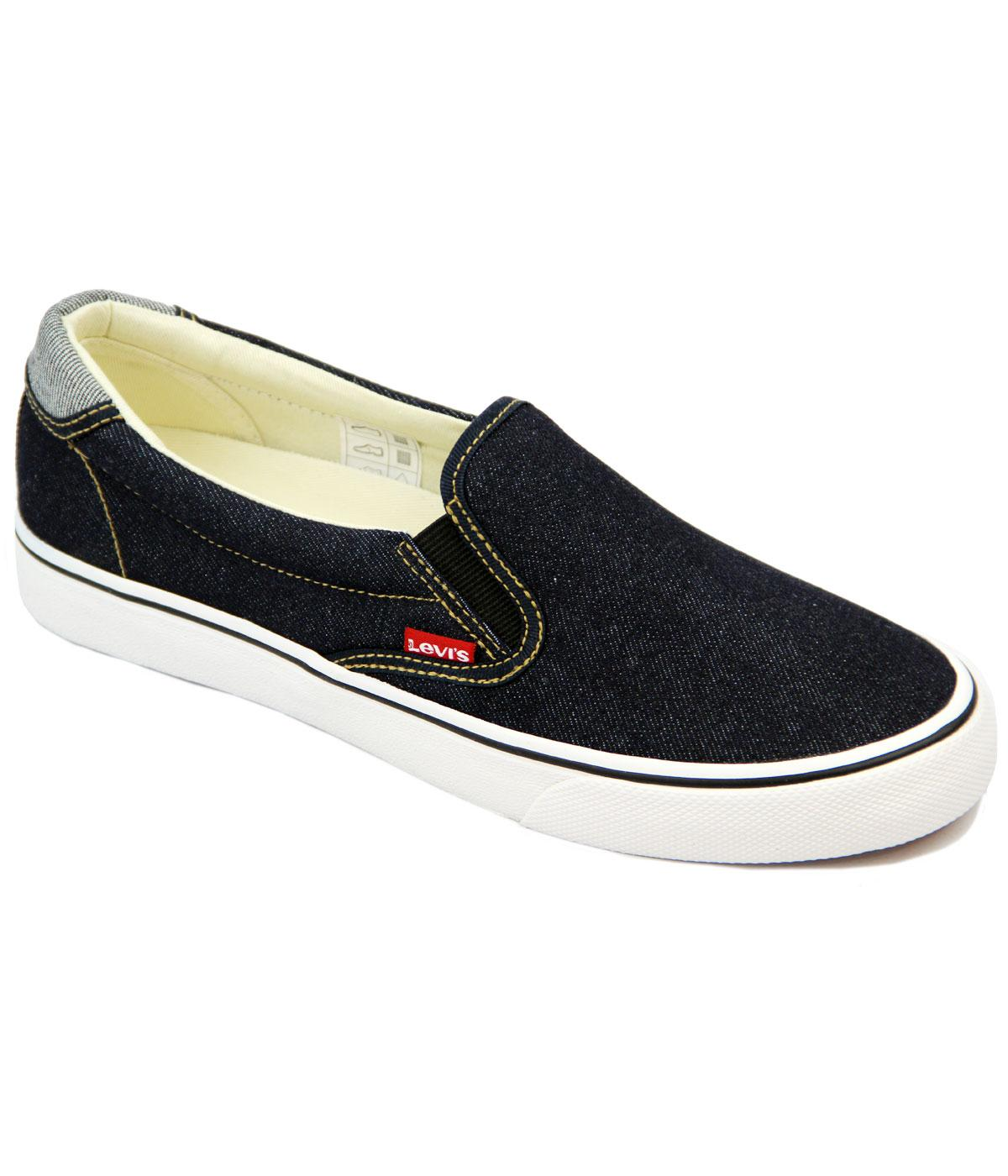 Levi's® Original Red Tab Slip On Denim Sneakers