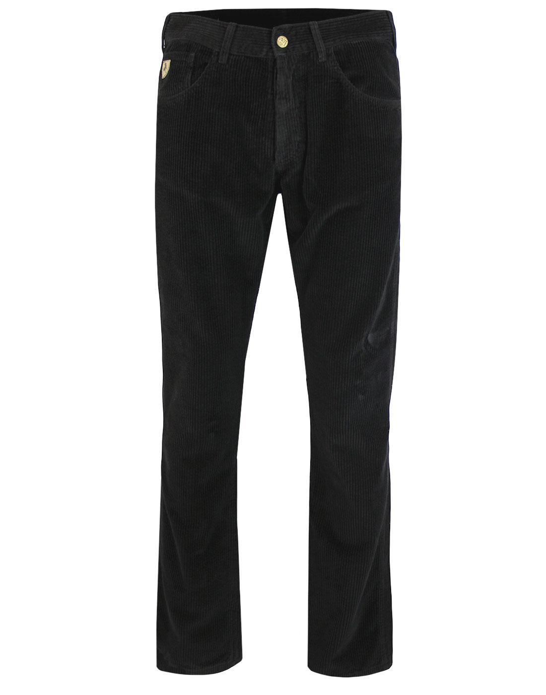 New Dallas LOIS 1980s Mod Jumbo Cord Trousers (B)