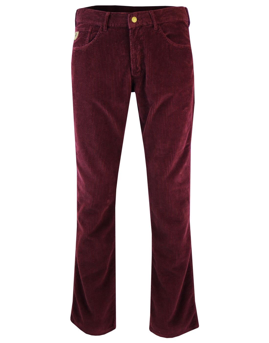 New Dallas LOIS 1980s Mod Jumbo Cord Trousers (P)