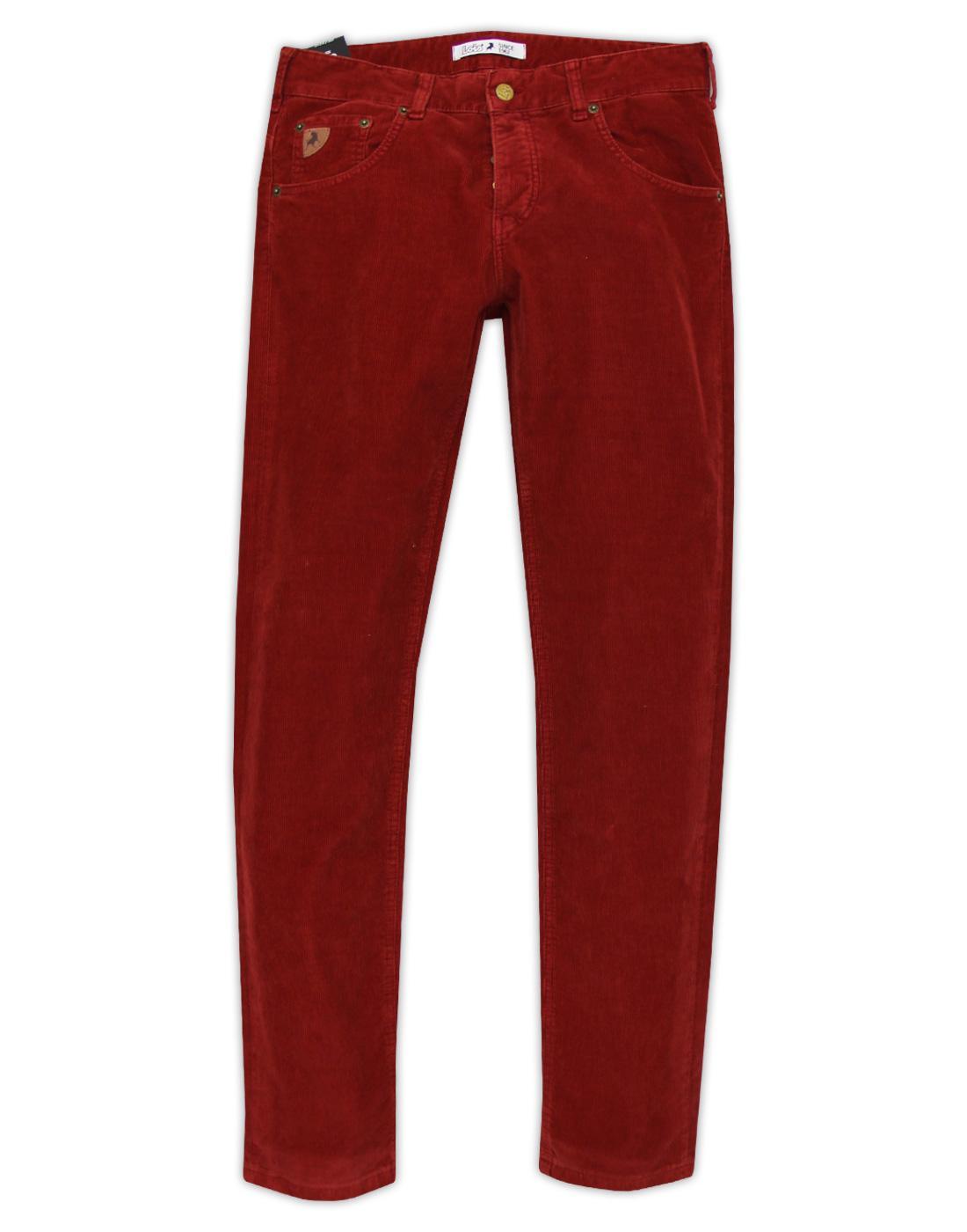 Sierra LOIS Mod Casuals Needle Cord Trousers (Bu)