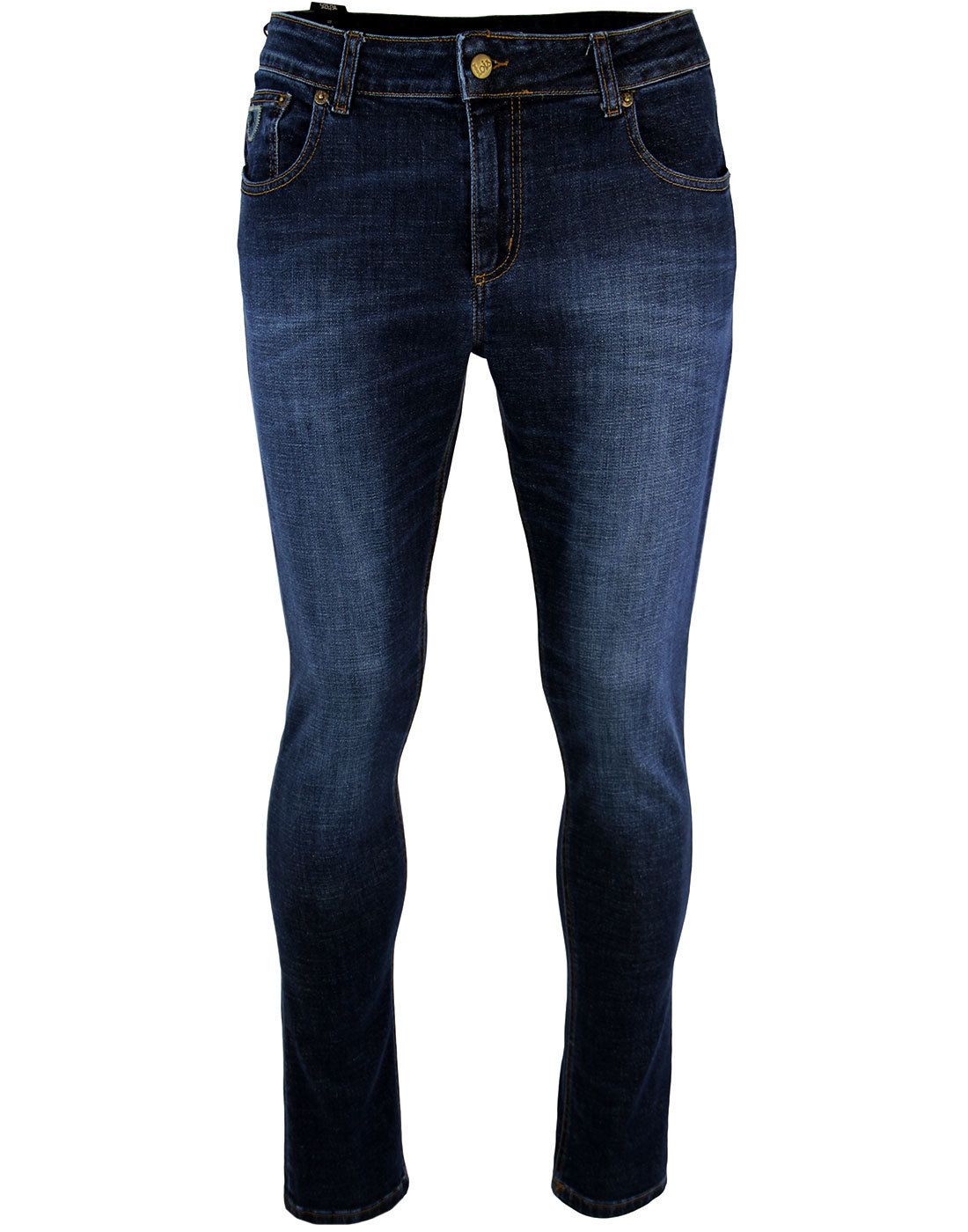 Sky LOIS Men's Mod Slim Fit Denim Jeans DARK STONE