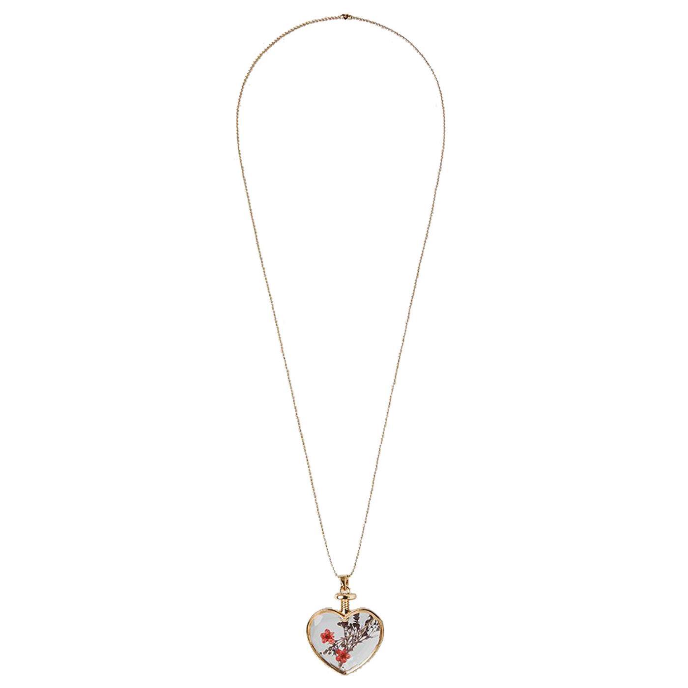 Adina LOUCHE Vintage Pressed Flower Necklace P