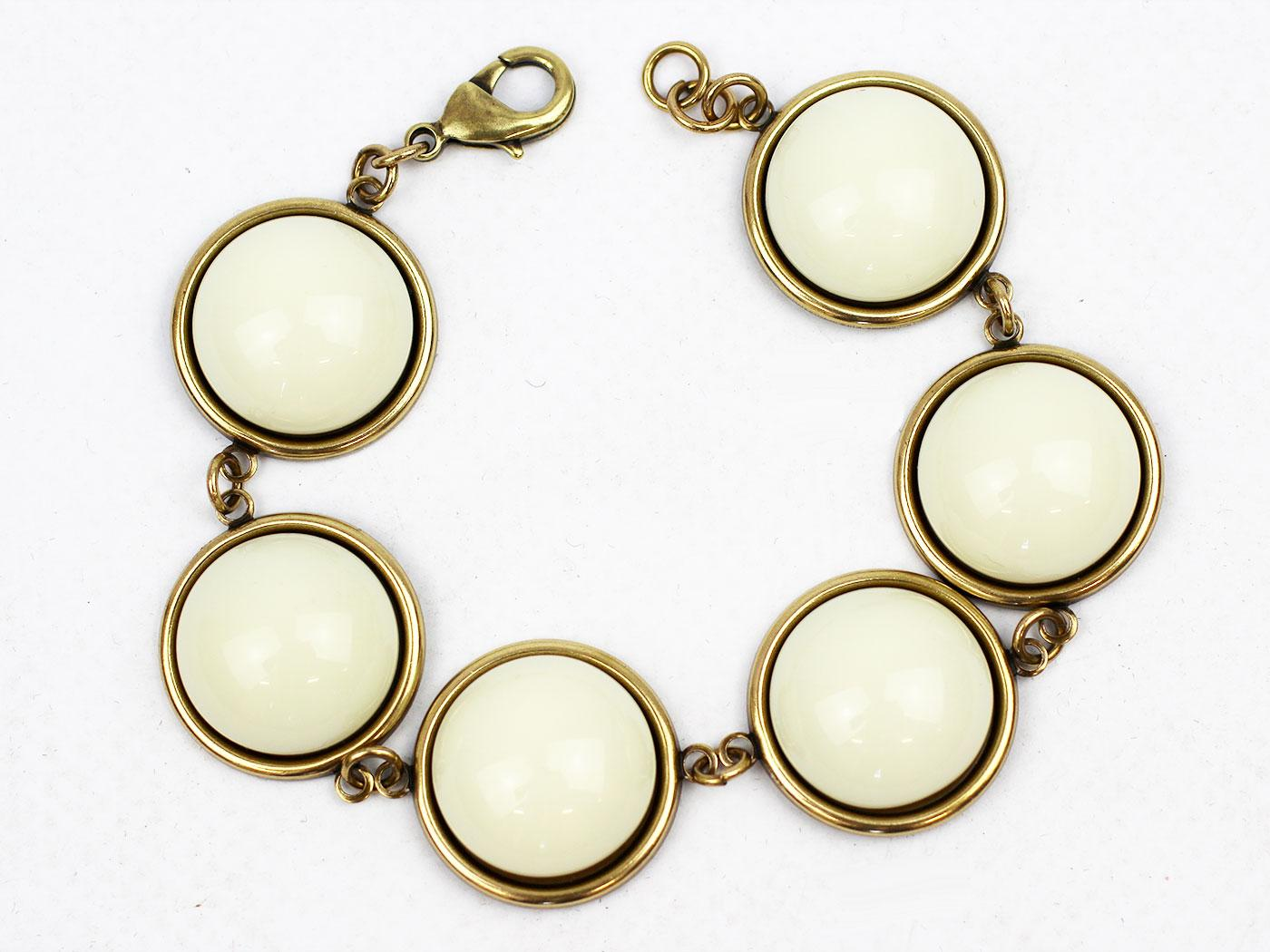 Glass Bubble LOVE BOUTIQUE 1960s Bracelet (W)