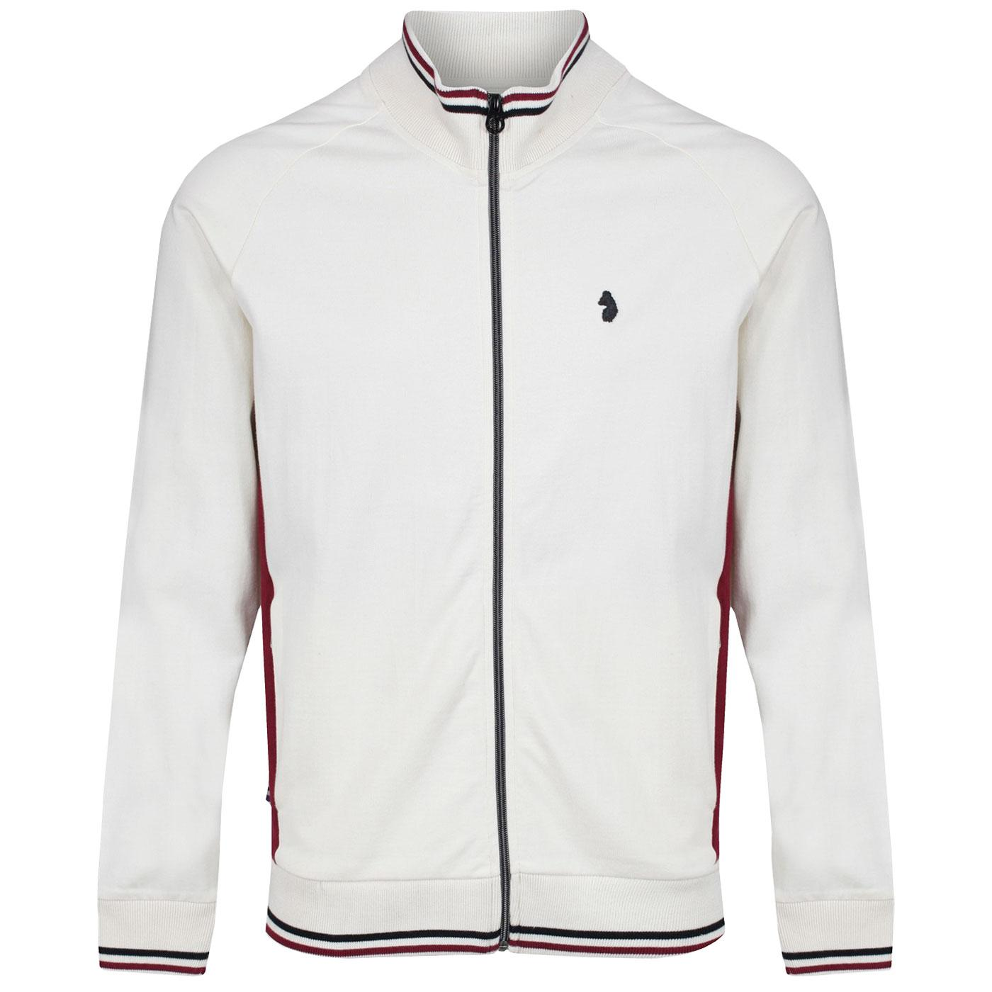 Acklom LUKE Men's Tipped Funnel Neck Track Jacket