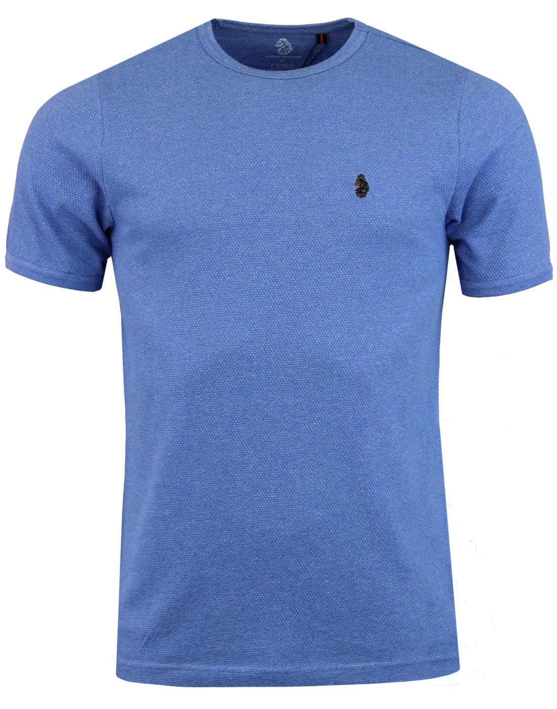 Luke 1977 Trousersnake Red T-Shirt Short Sleeve Cotton Top for Men