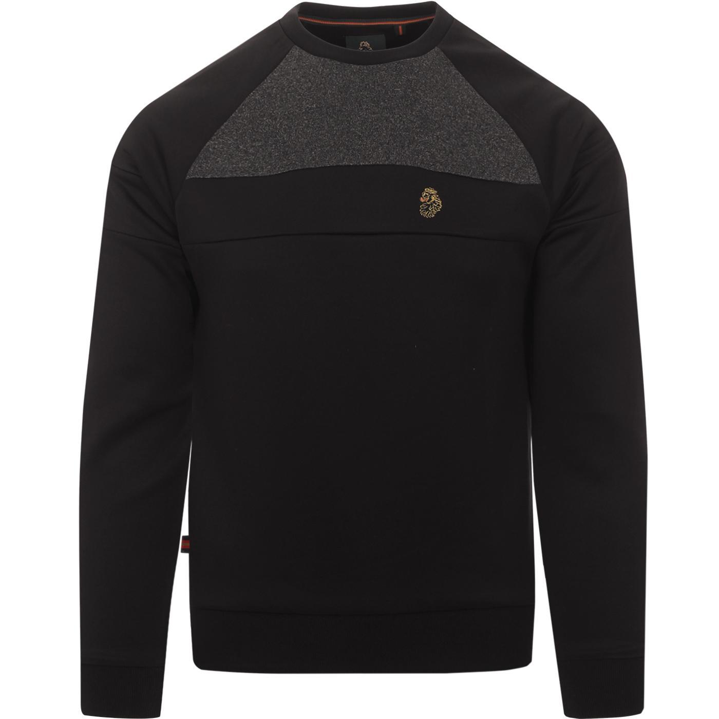 Adam 3 LUKE Retro Colour Block Tricot Sweatshirt B