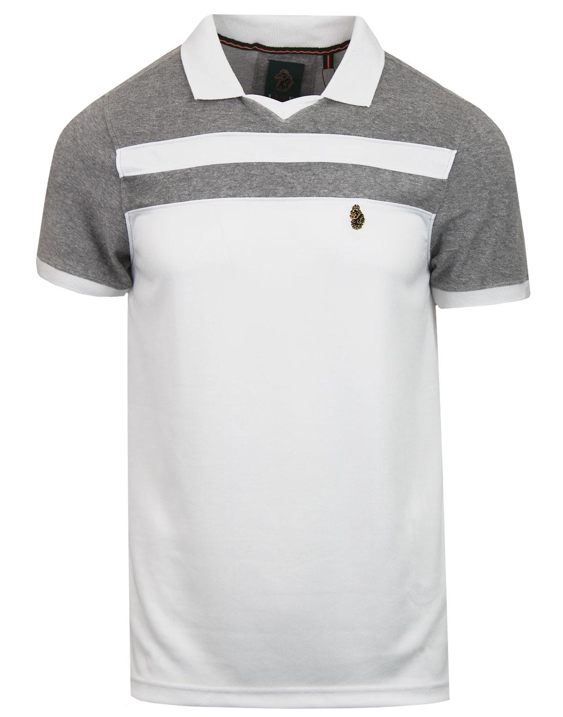 Away LUKE Retro Indie Football Collar Polo Shirt W
