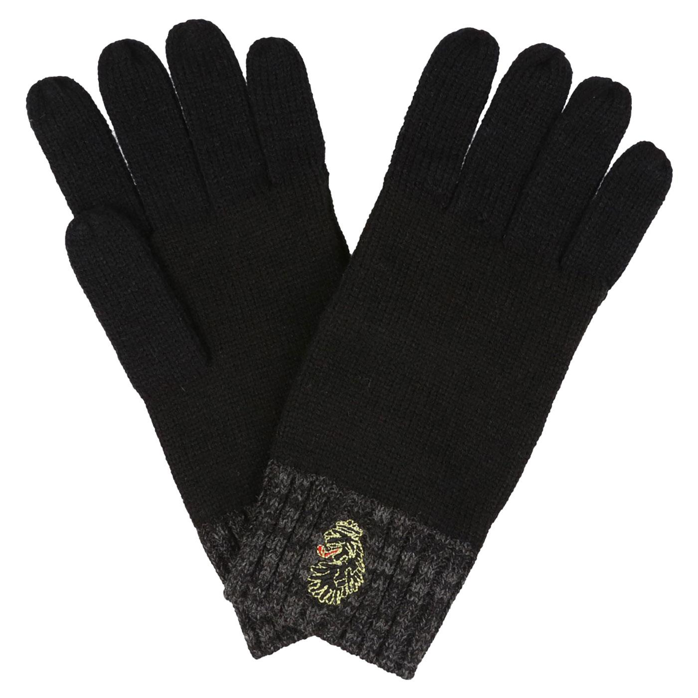 Bello LUKE 1977 Lion Logo Emblem Knitted Gloves
