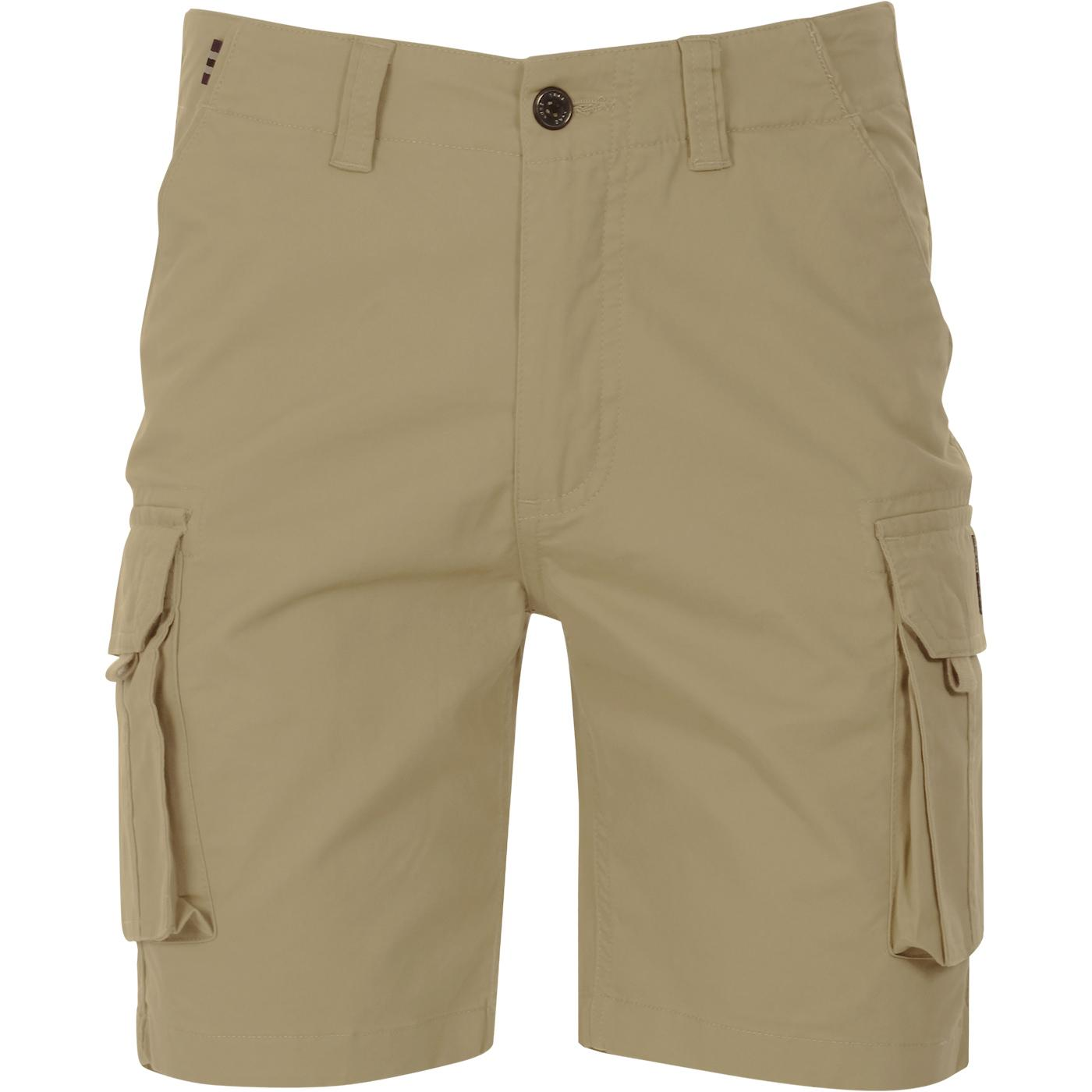 Cango LUKE Men's Retro Indie Cargo Shorts S