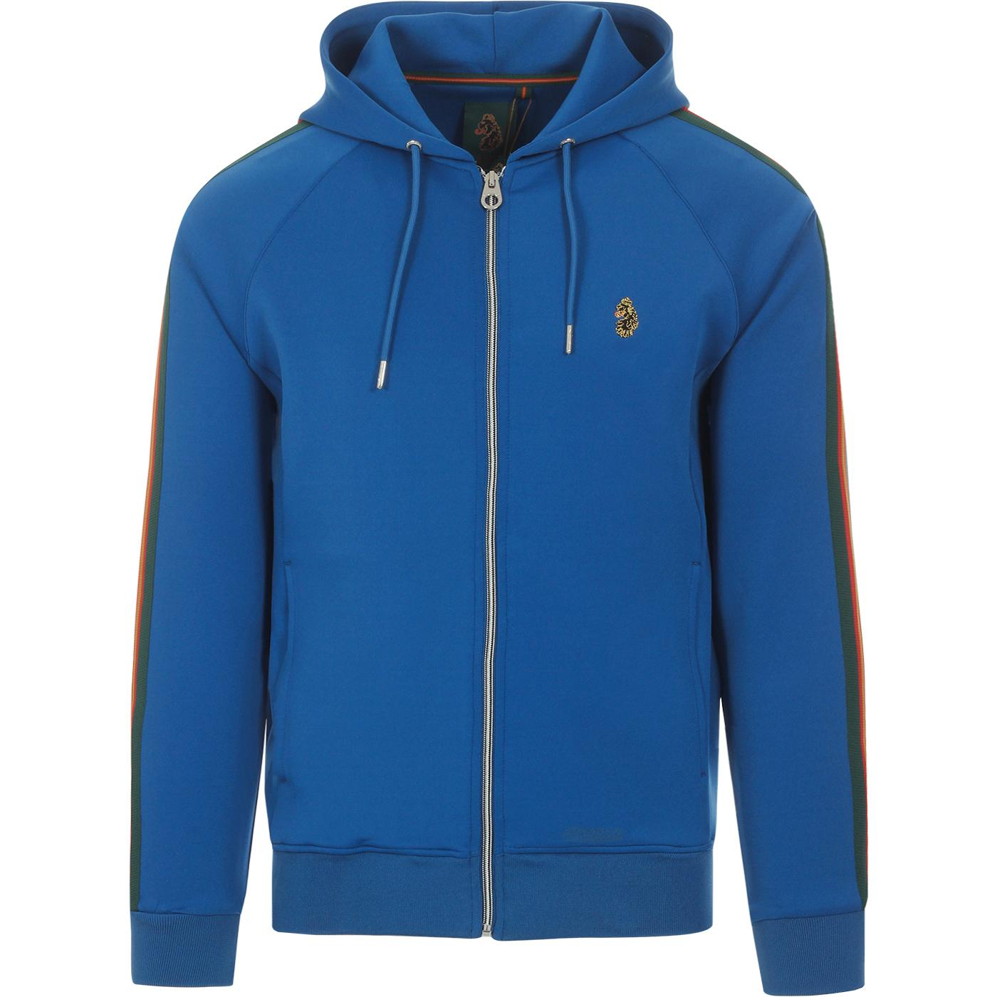 Dalgliesh LUKE SPORTS Retro Hooded Track Top BLUE