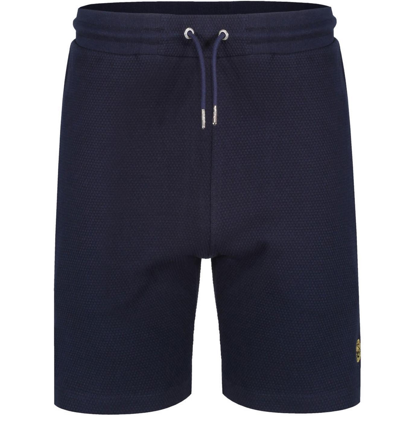 Fisher Island LUKE Retro Textured Pique Shorts DN