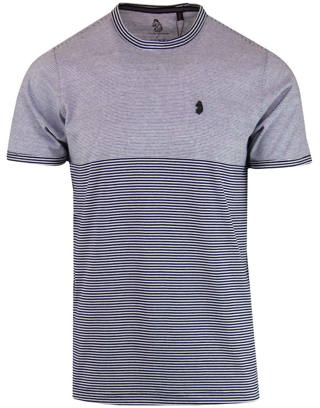 FSSS LUKE Men's Retro Engineered Stripe T-Shirt