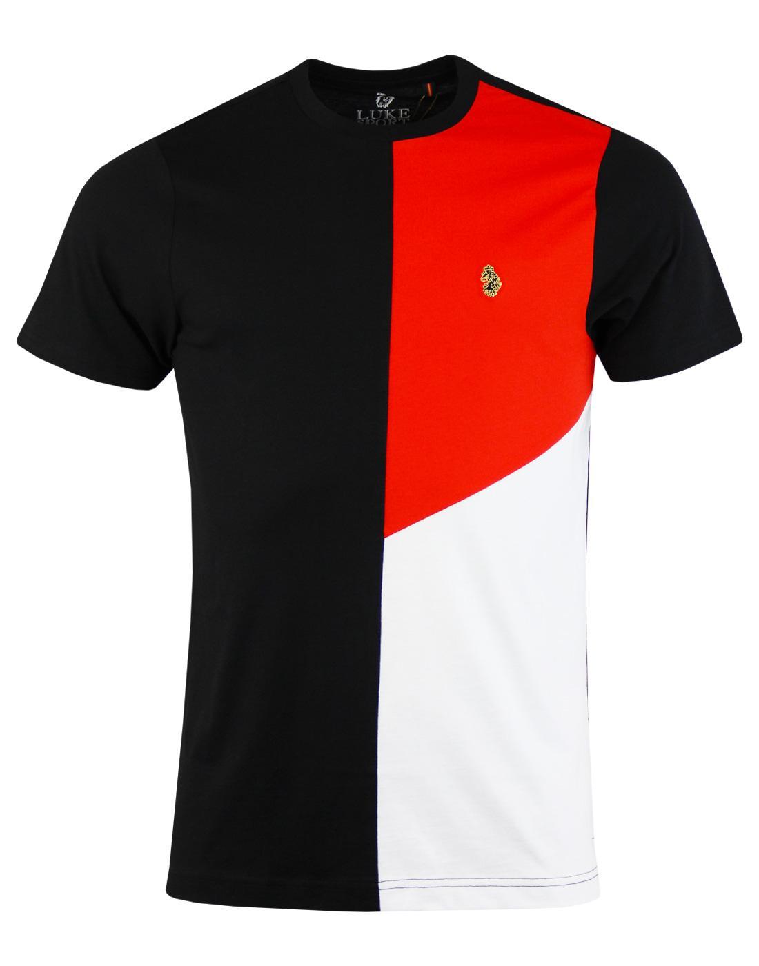 Hoy LUKE 1977 Men's Retro Mod Colour Block T-shirt