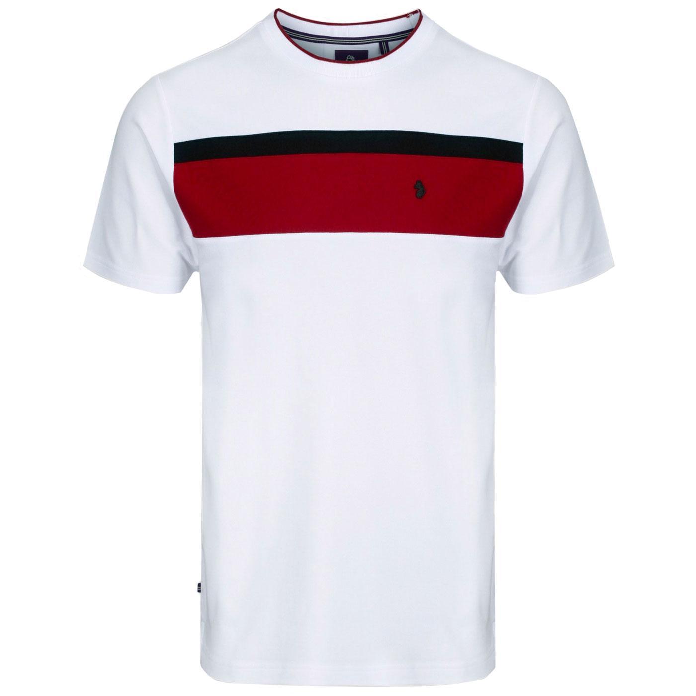 Indy Nial LUKE Men's Retro Pique Cotton T-Shirt W