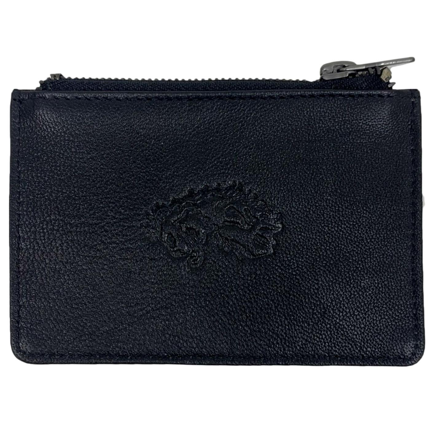 Kai LUKE Card Holder with Zip Pocket (Black)