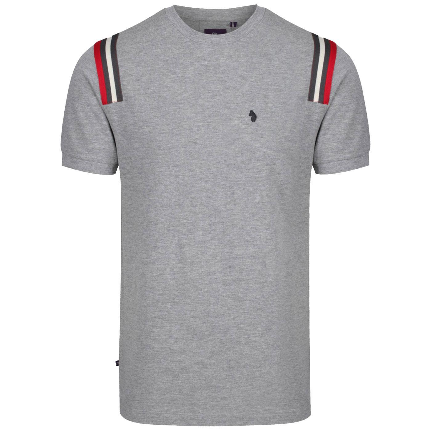 Le Harve LUKE Retro Shoulder Tape Pique T-shirt