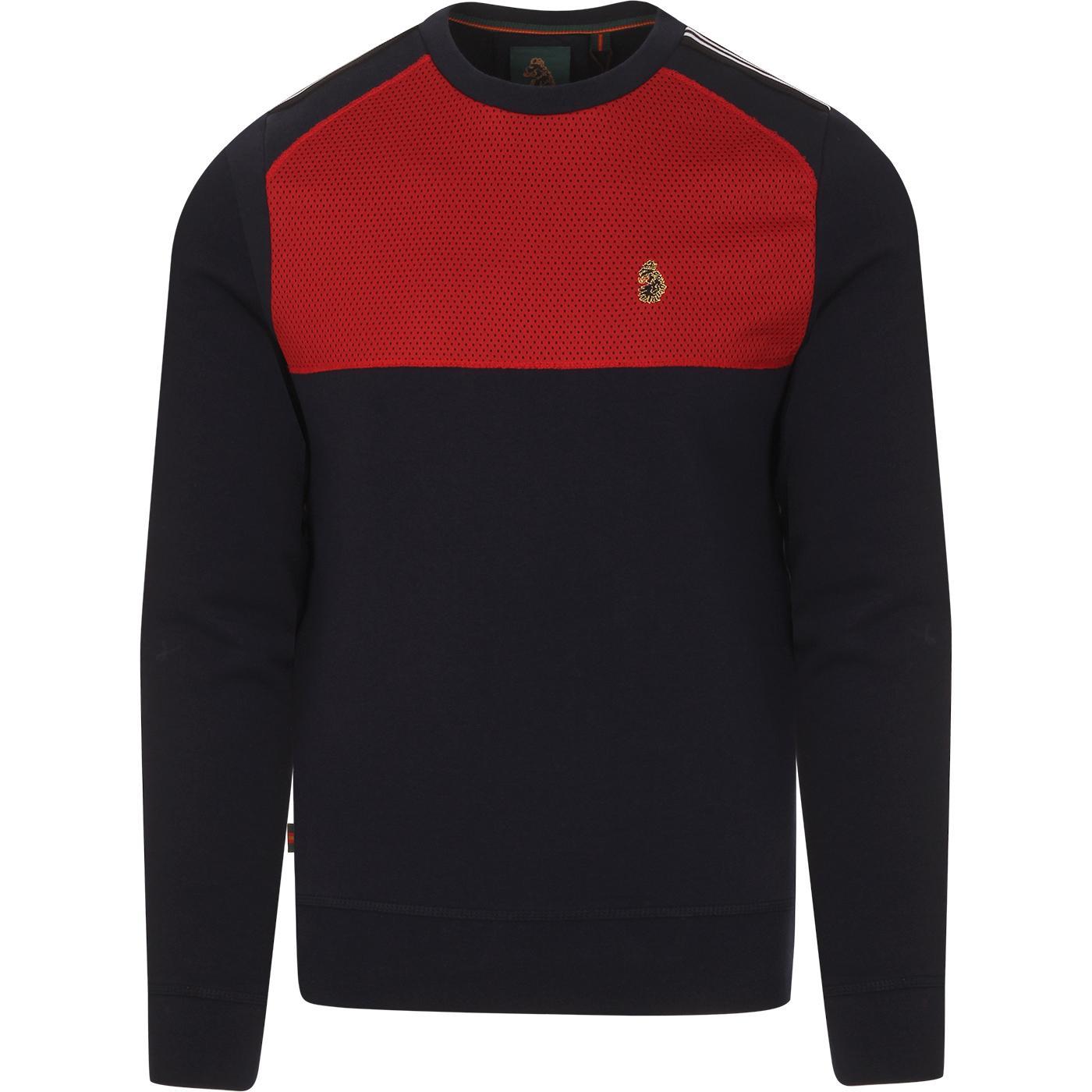 Marco LUKE Retro Perf Panel Retro Sweatshirt (DN)