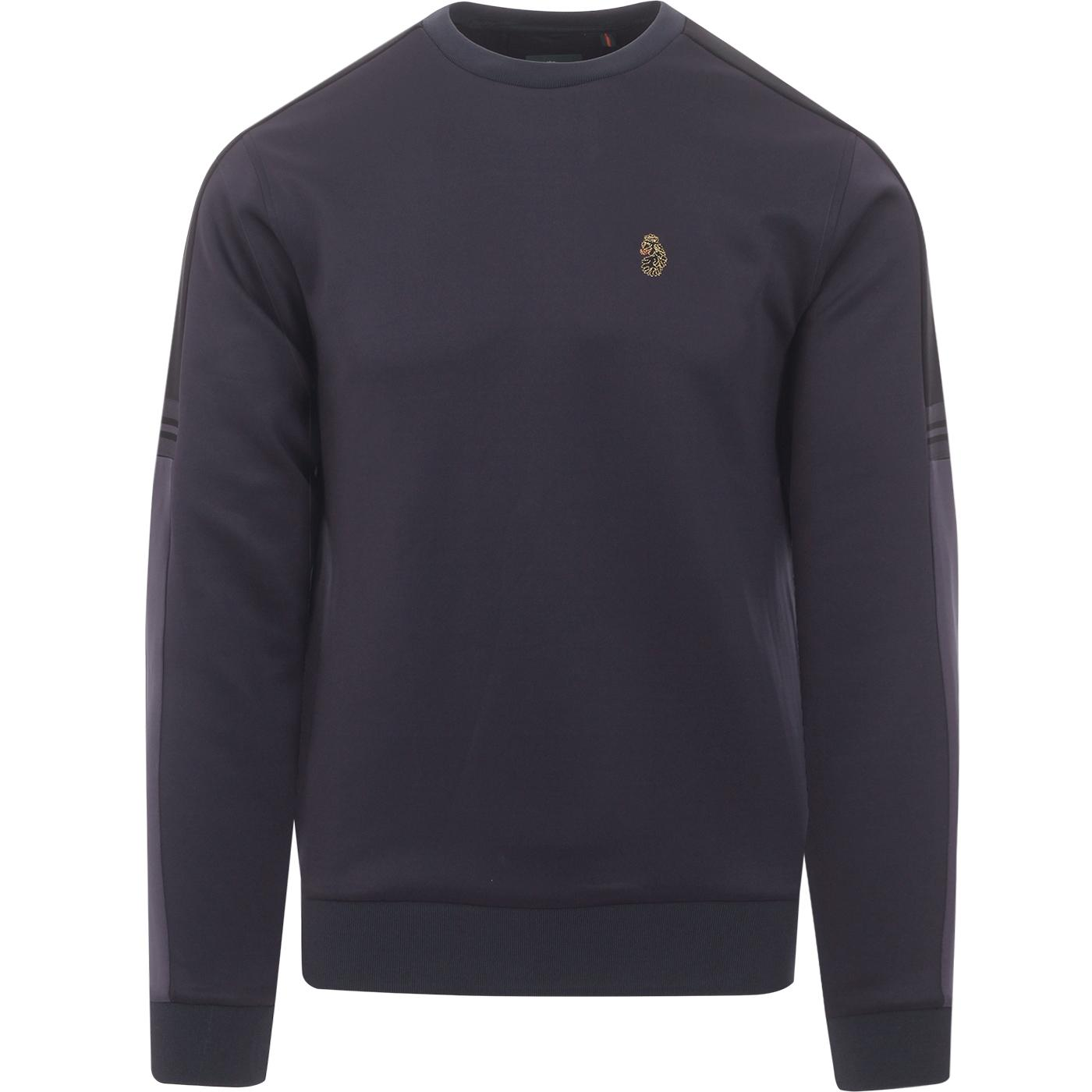 Patter LUKE 90s Colour Block Tape Trim Sweatshirt