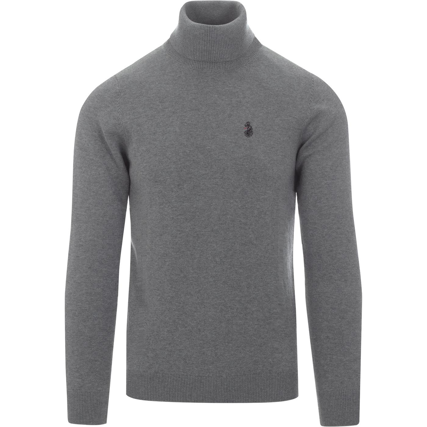 Polesium LUKE 60s Mod Knitted Roll Neck Jumper MG