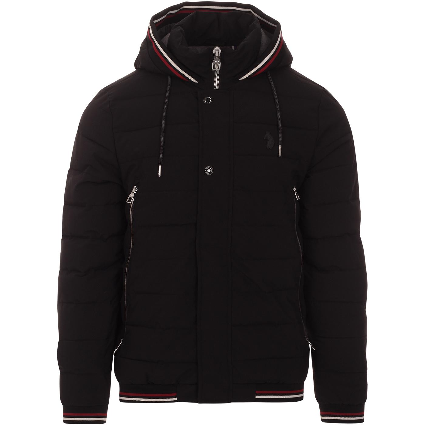 Quinn LUKE Retro Tipped Tech Unique Quilted Jacket