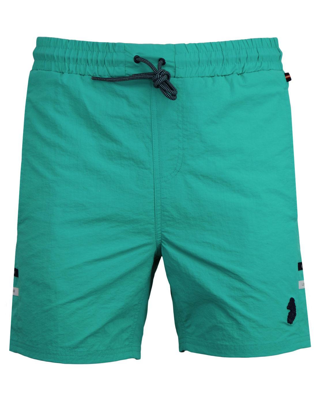Ragy LUKE 1977 Mens Indie Summer Swim Shorts GREEN