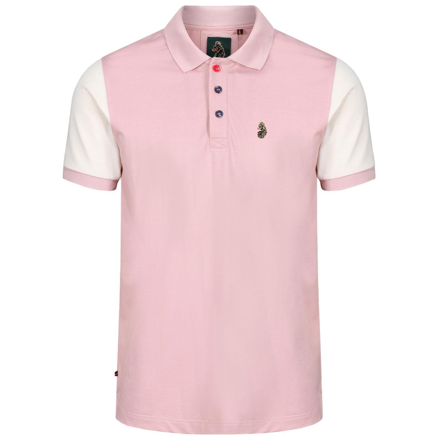Selecter LUKE Mens Retro Mod Pique Polo Shirt (PP)