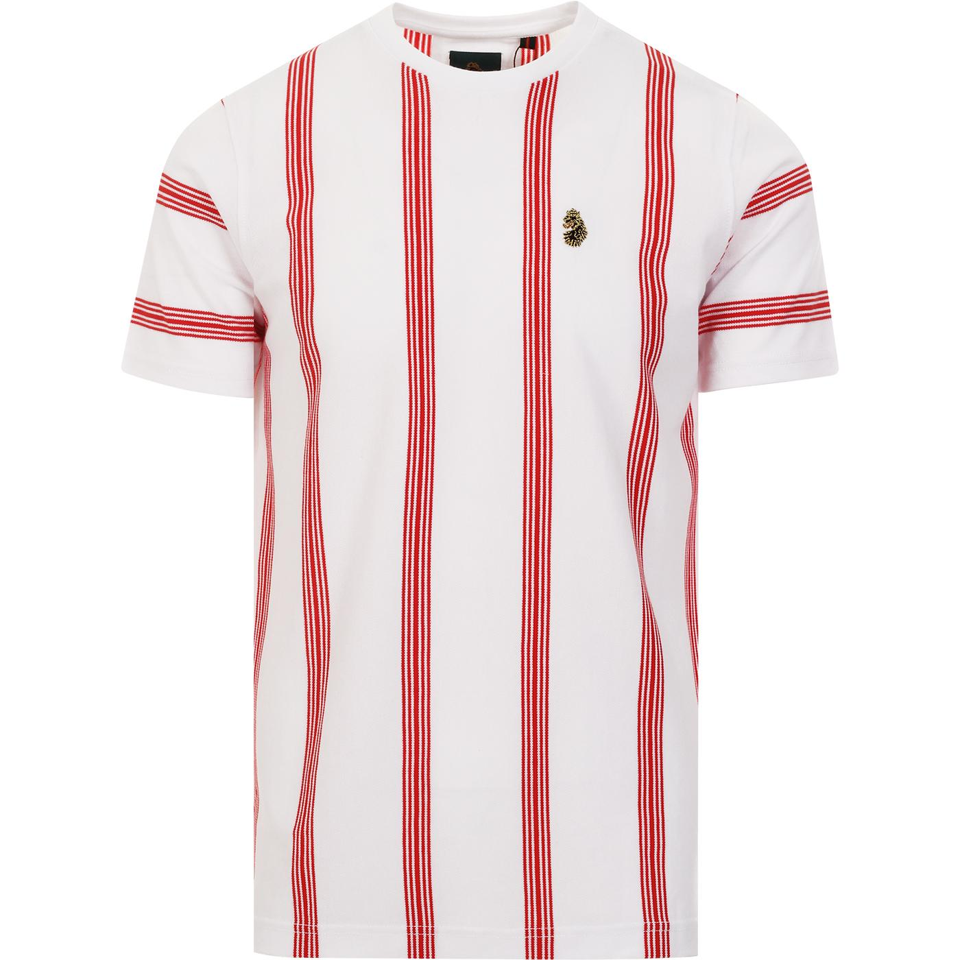 Stafford LUKE Retro Mod Vertical Stripe Tee (W)