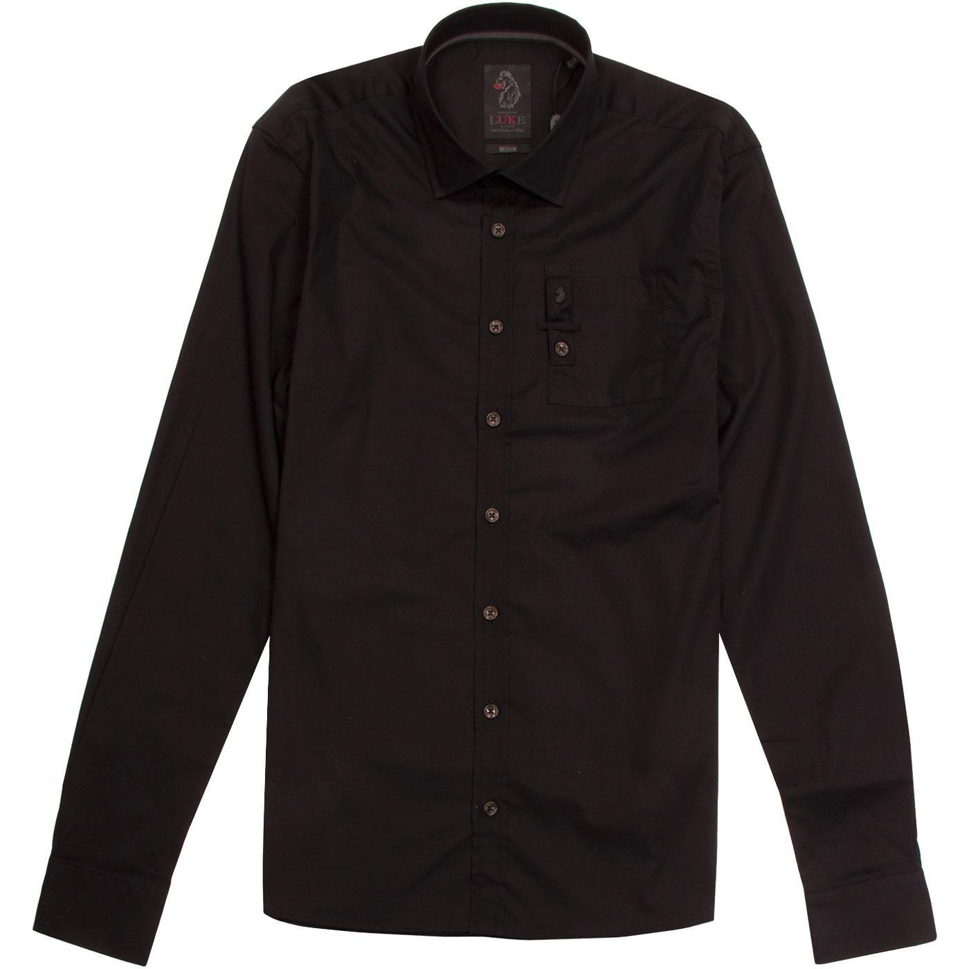 Stud Of The Wood LUKE Men's Retro Pocket Shirt B