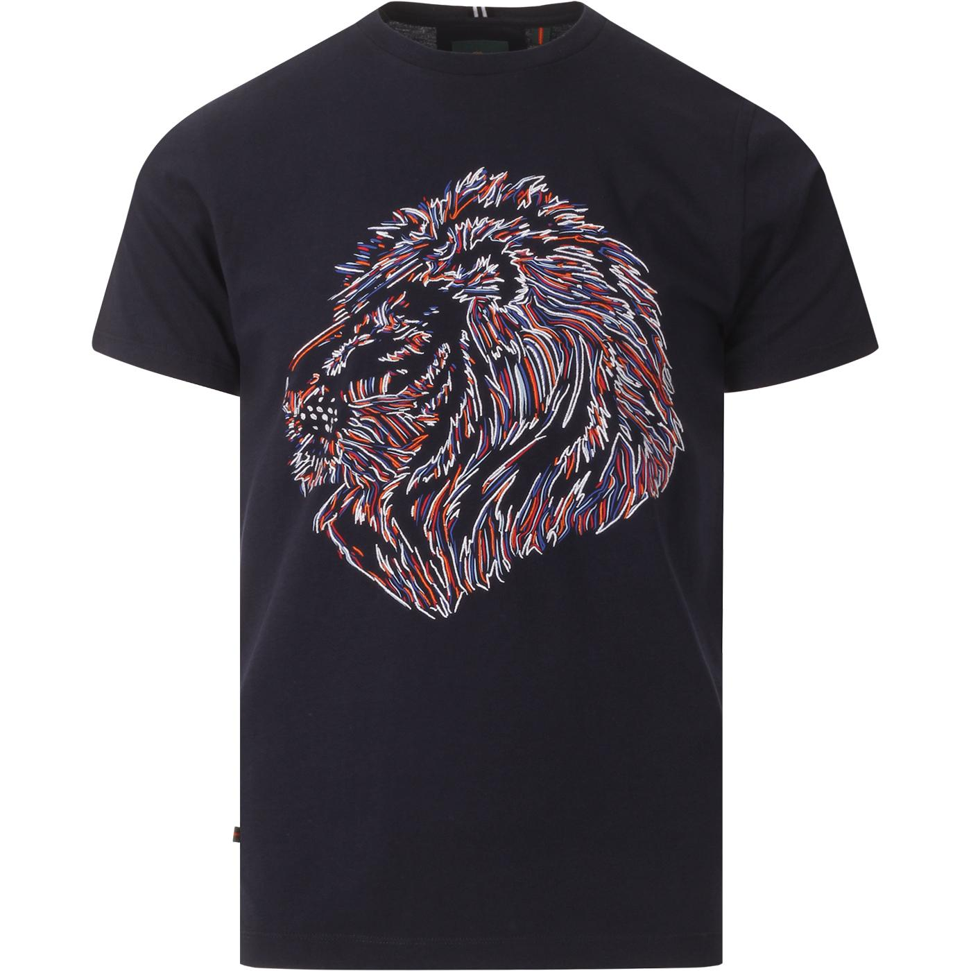 Tapestry LUKE Lion Embroidered Graphic Tee (DN)