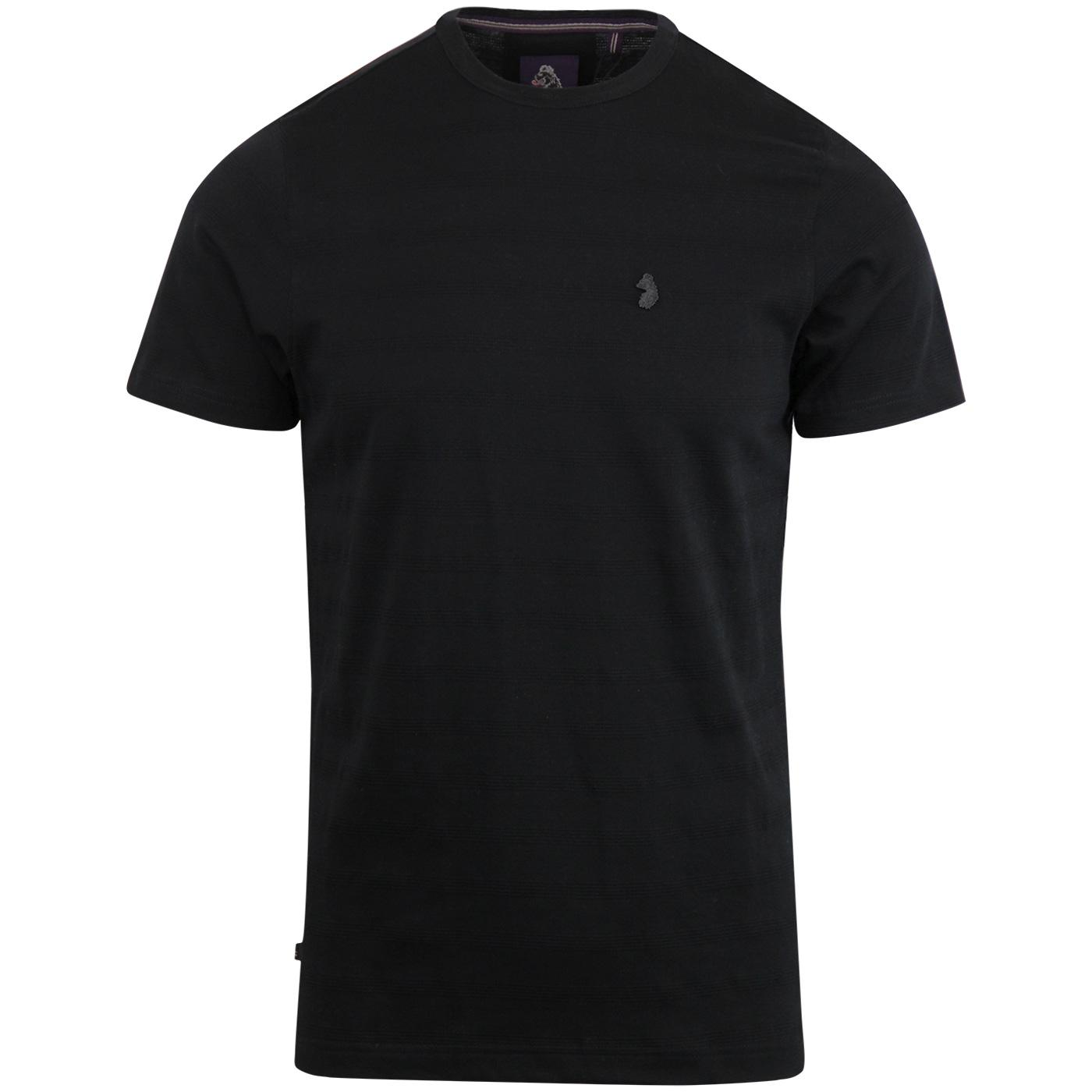 Cultraised LUKE Micro Rib Retro Crew Neck Tee (JB)